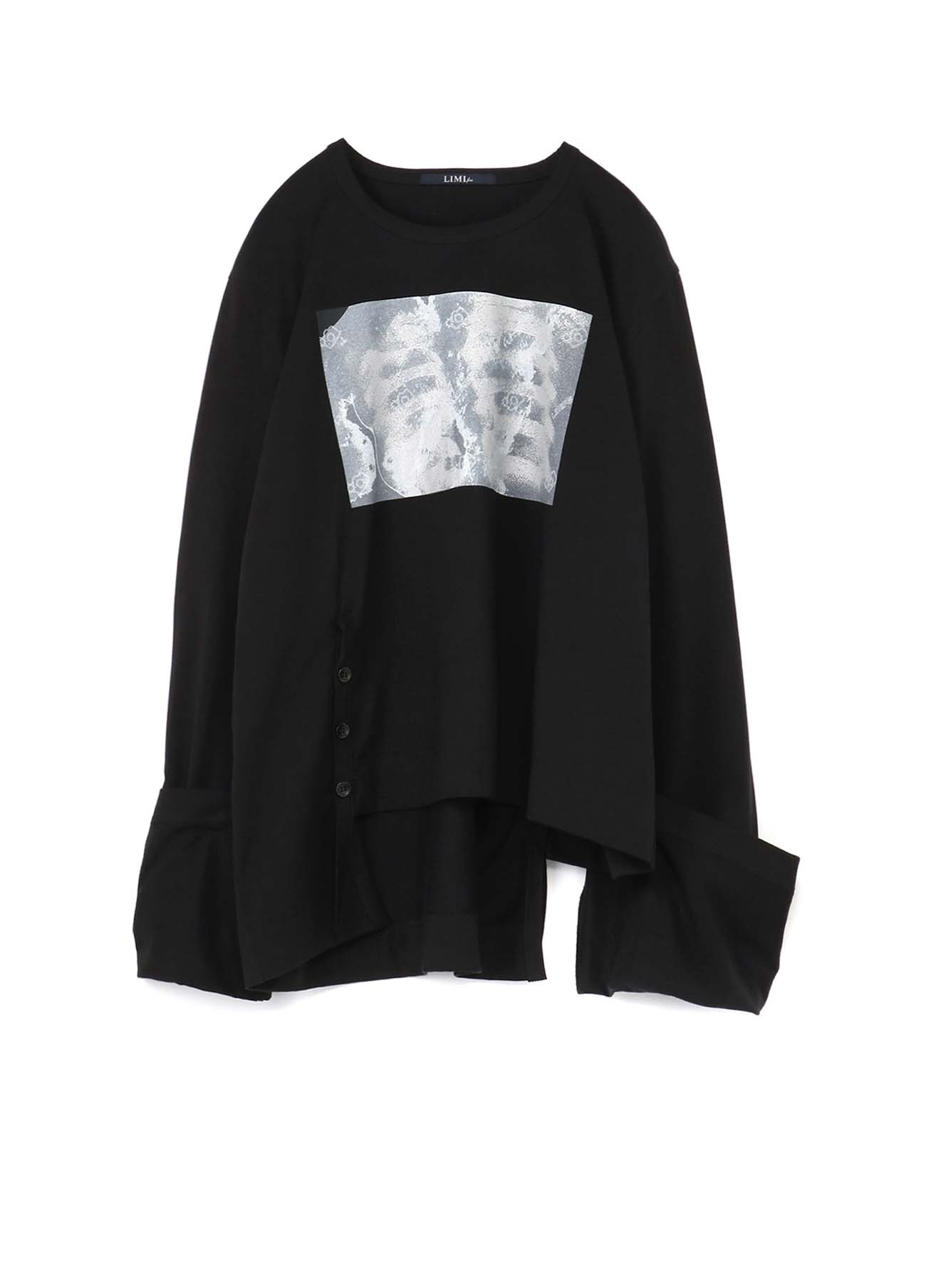 X-Ray Print Slit Binder T-Shirt