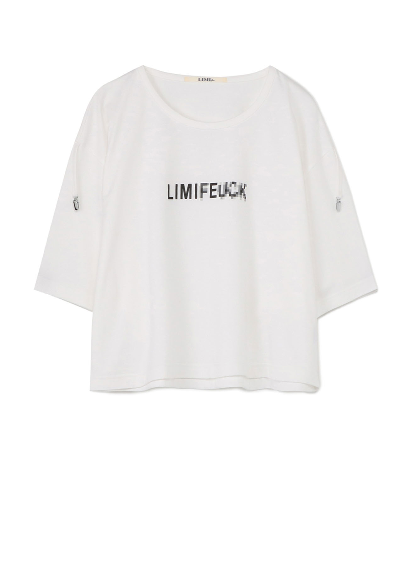 LIMIxExxx Print Suspender Harf Sleeve T-Shirt