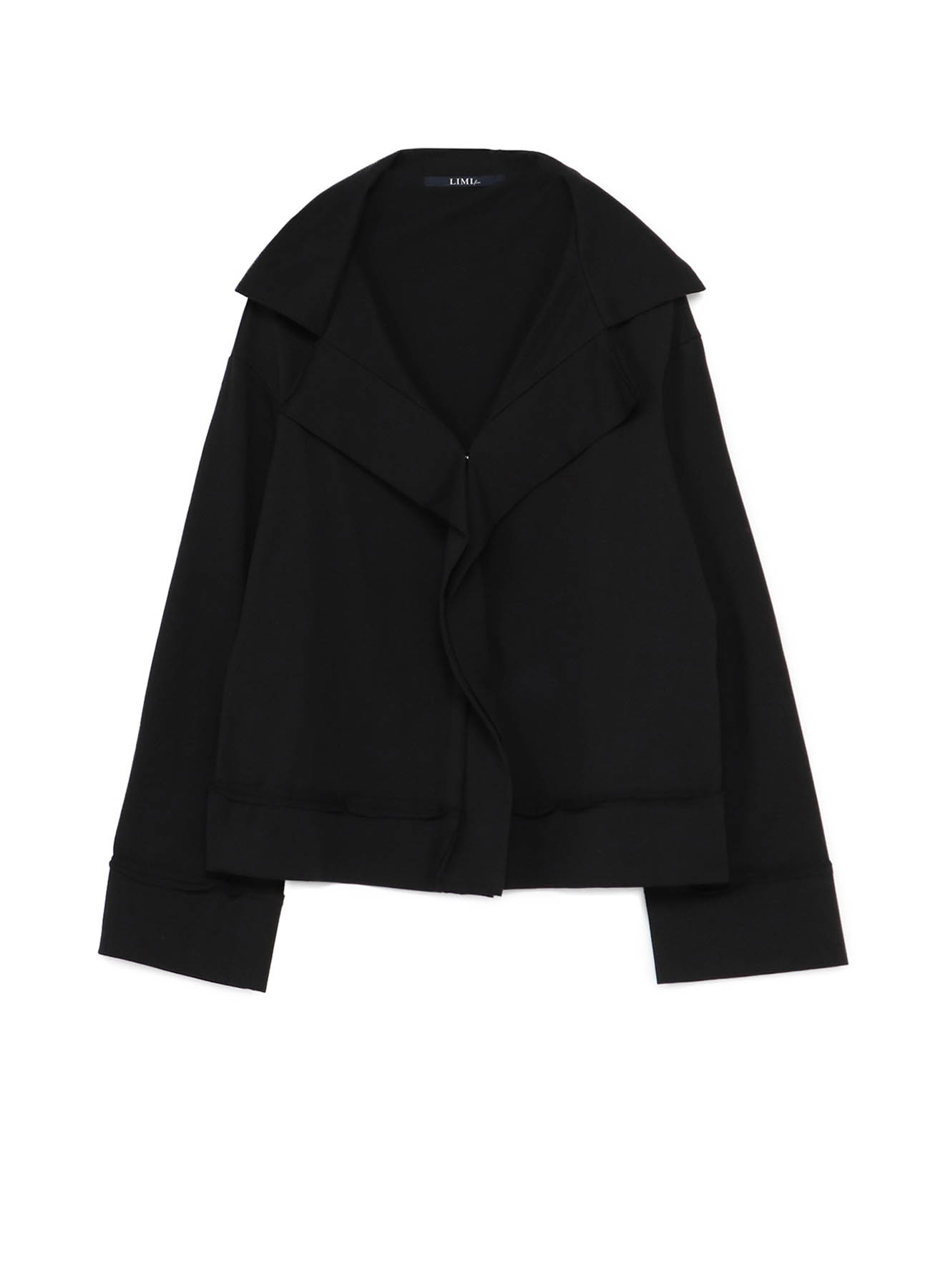 40/2 Cotton Plain stitch Sloped Shoulder Cardigan A