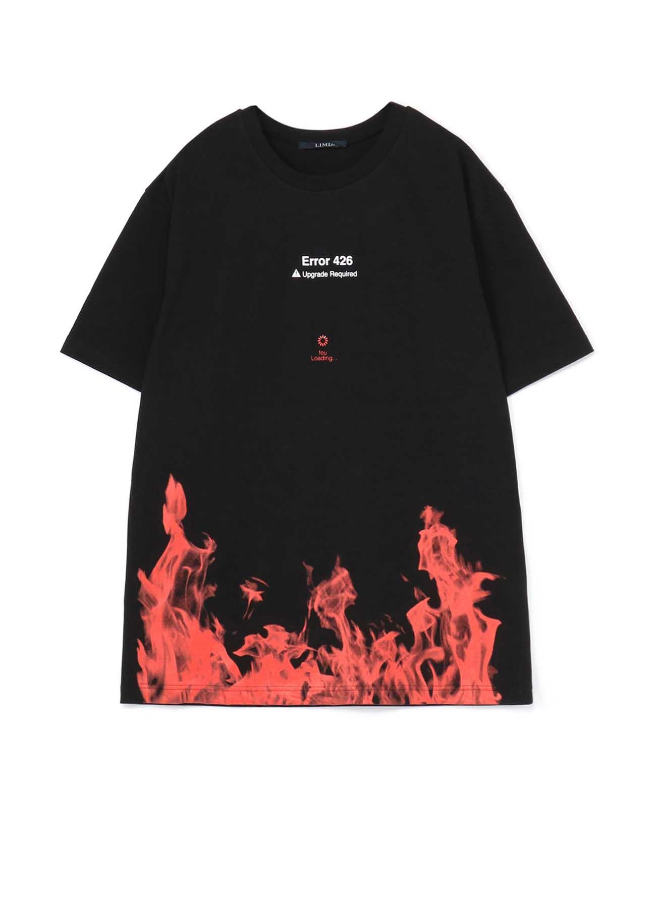 feu Loading Print Oversized T-Shirt