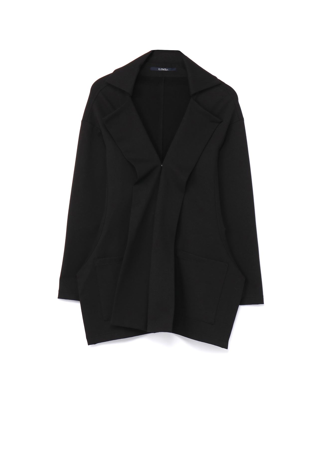 Fleece Punch Front Square Hem Jacket