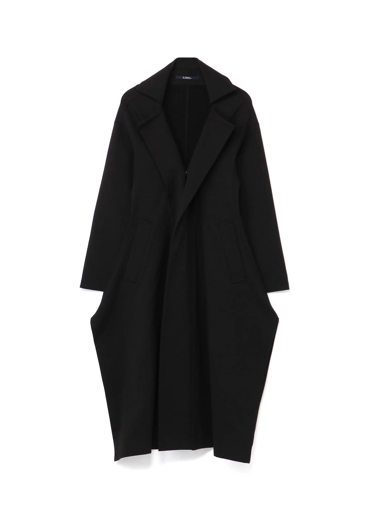 Fleece Punch Front Square Hem Coat