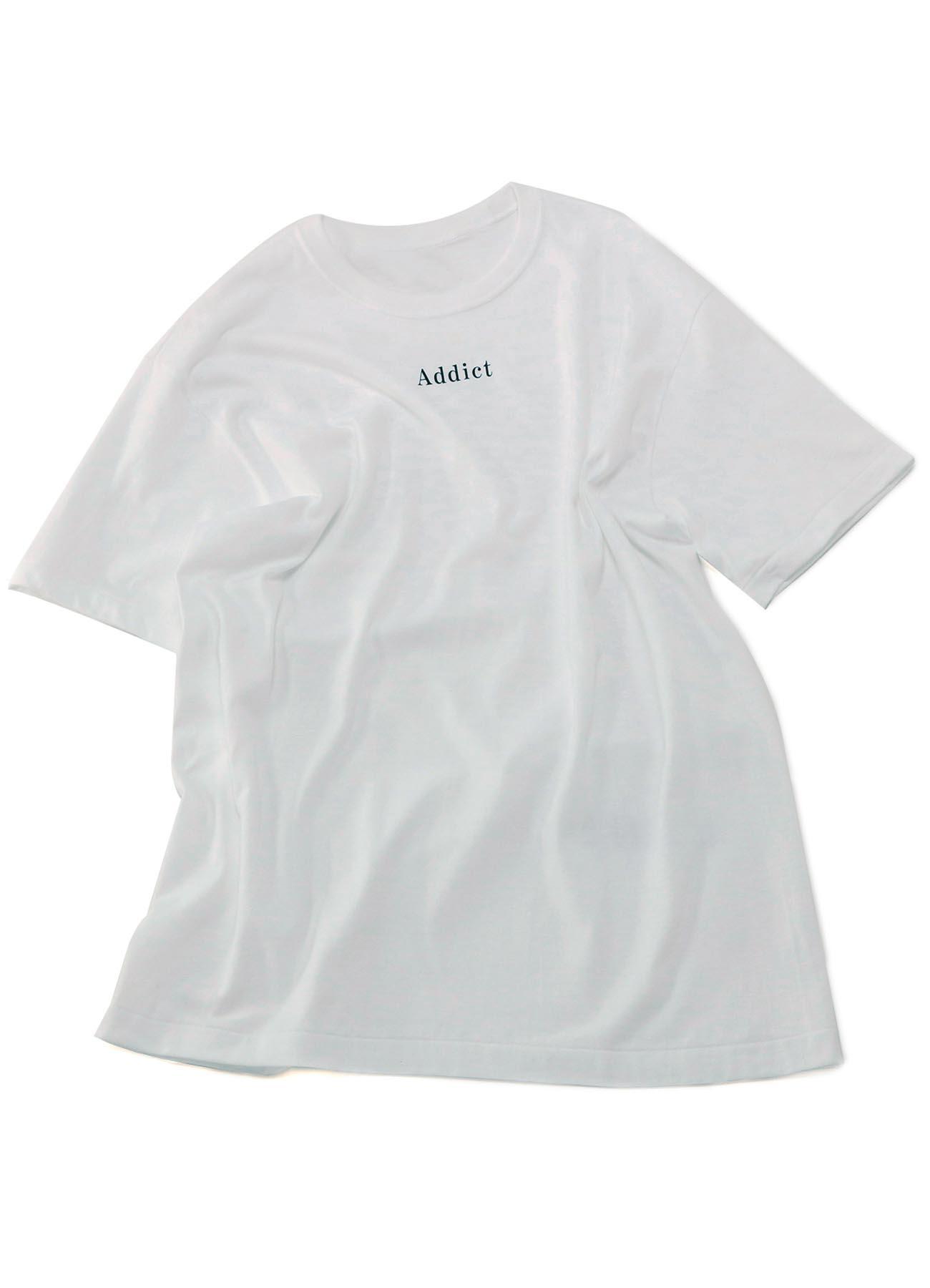 [THE SHOP Limited Product] 20/-Plain Stitch LIMI FEU Print T-Shirt C