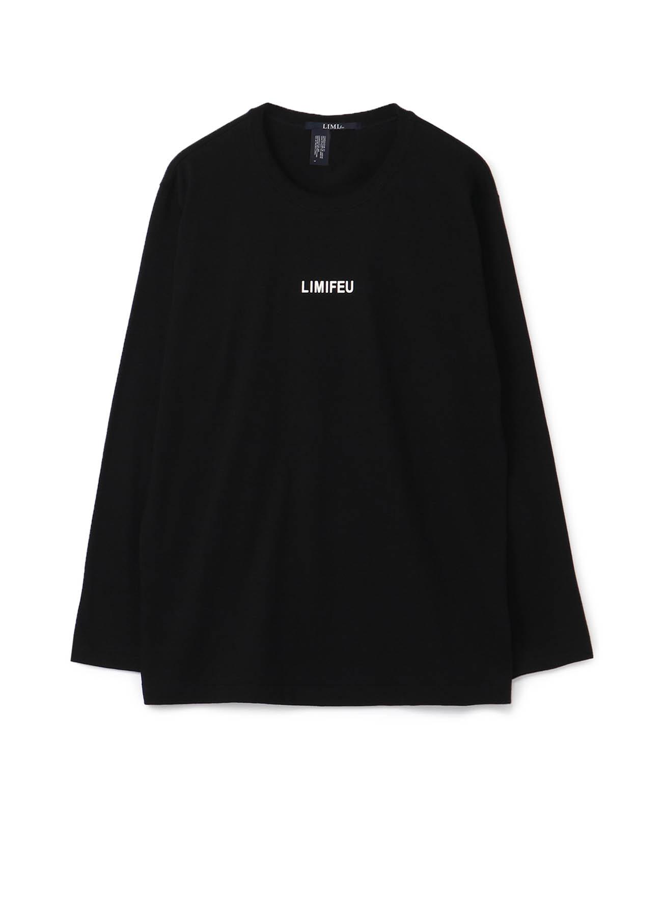 20/-Plain Stitch LIMI FEU Logo Print Long T-Shirt