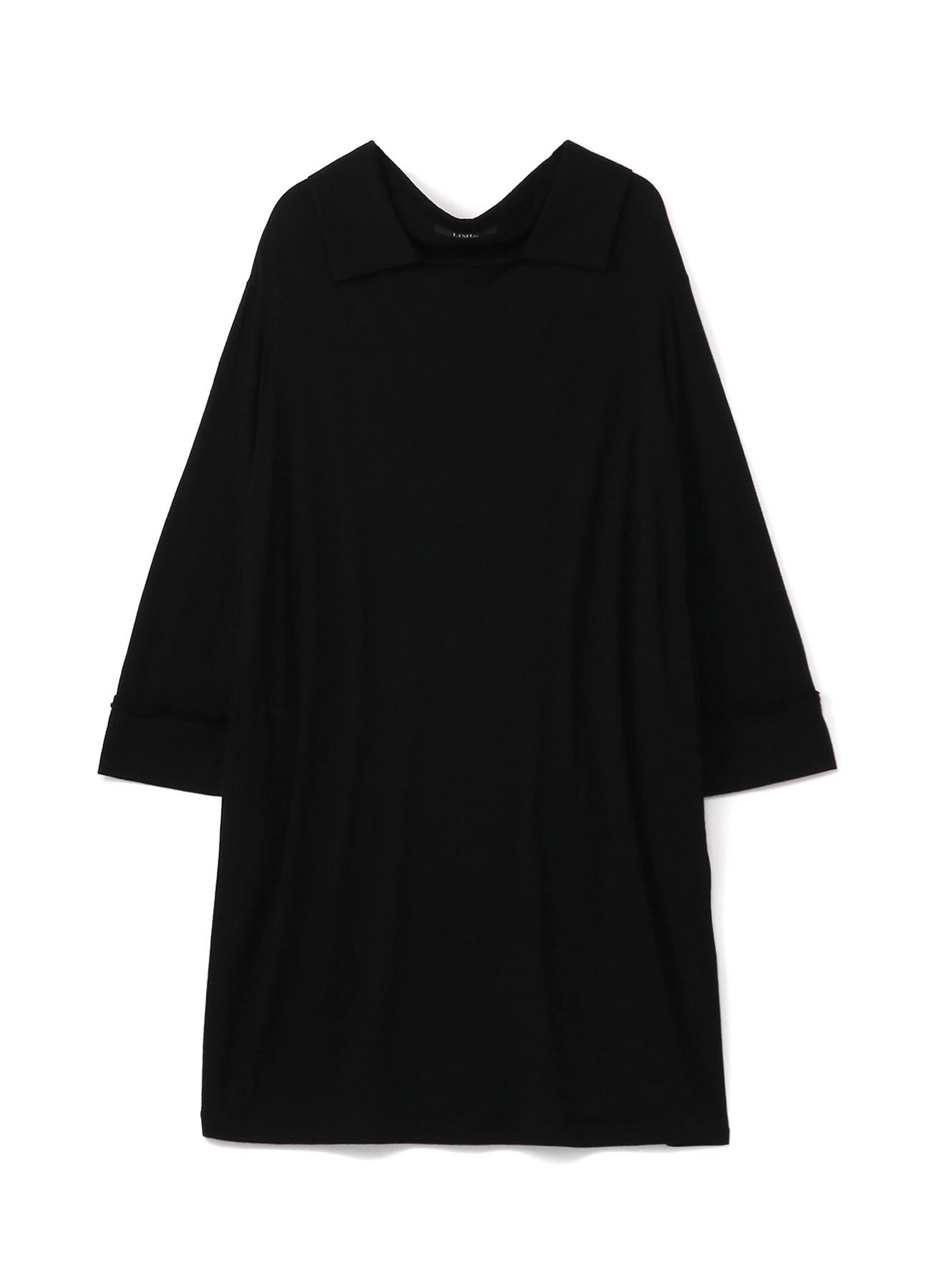 2/60 Wool Plain stitch Sloped Shoulder Dress
