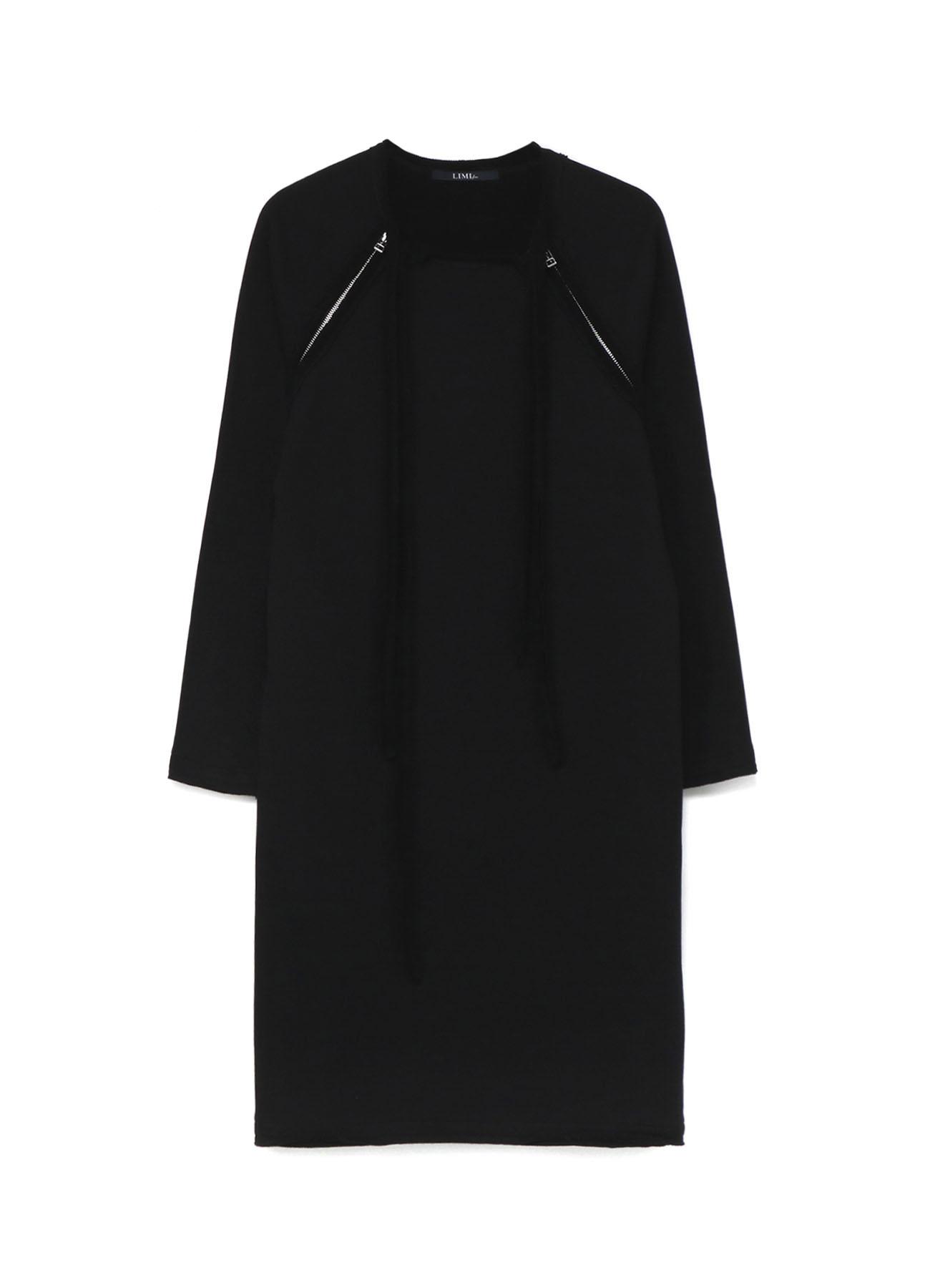 Cotton Mercerized Fleece Raglan Fastener Dress