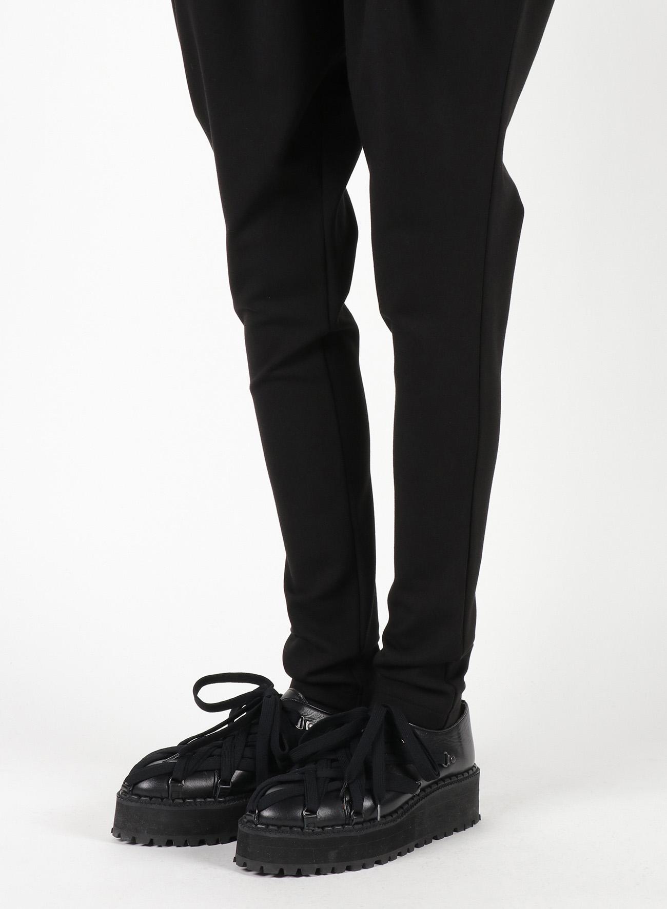Fleece Punch Waist Tuck Pants