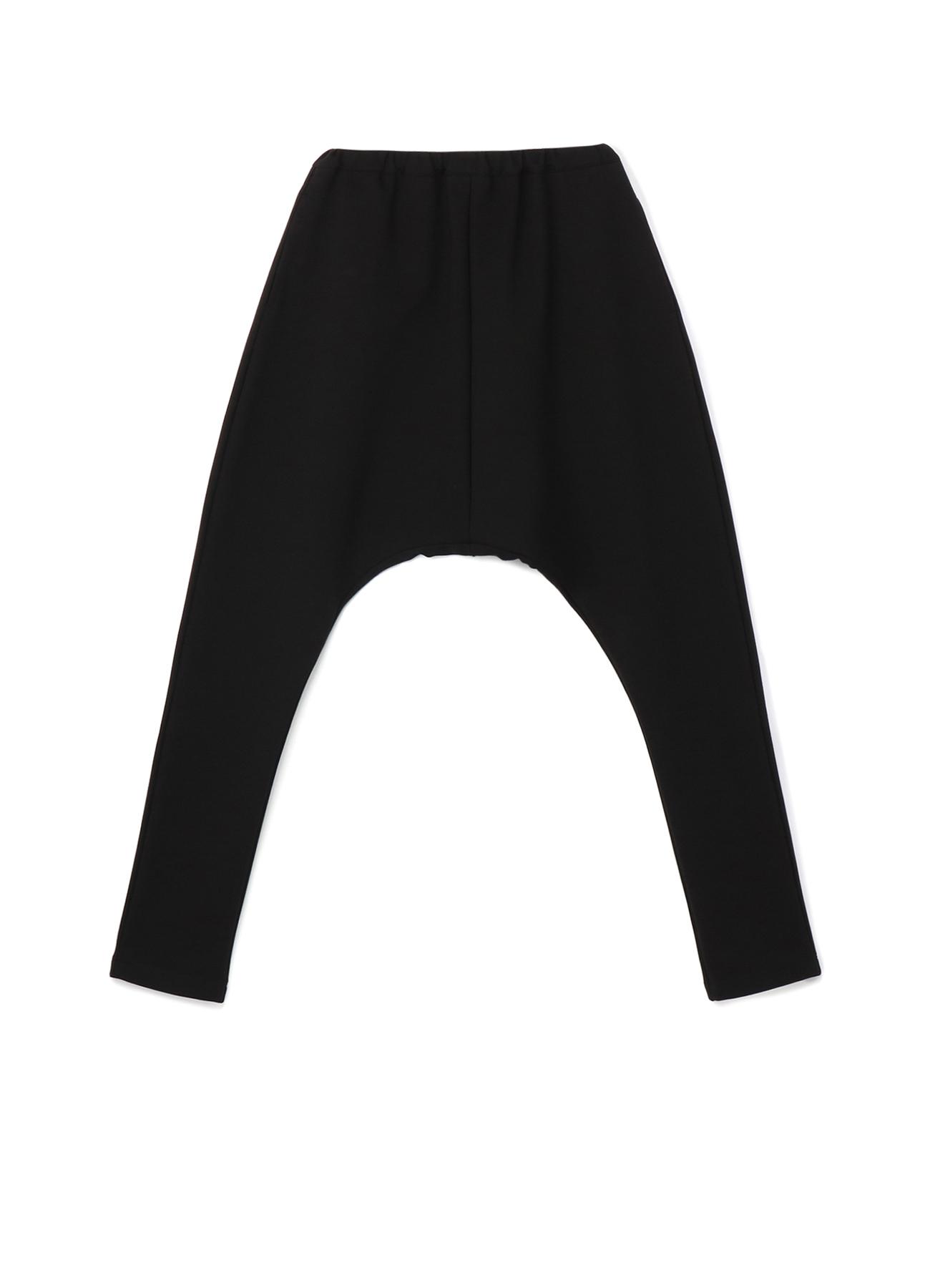 Fleece Punch Waist Elastic Pants