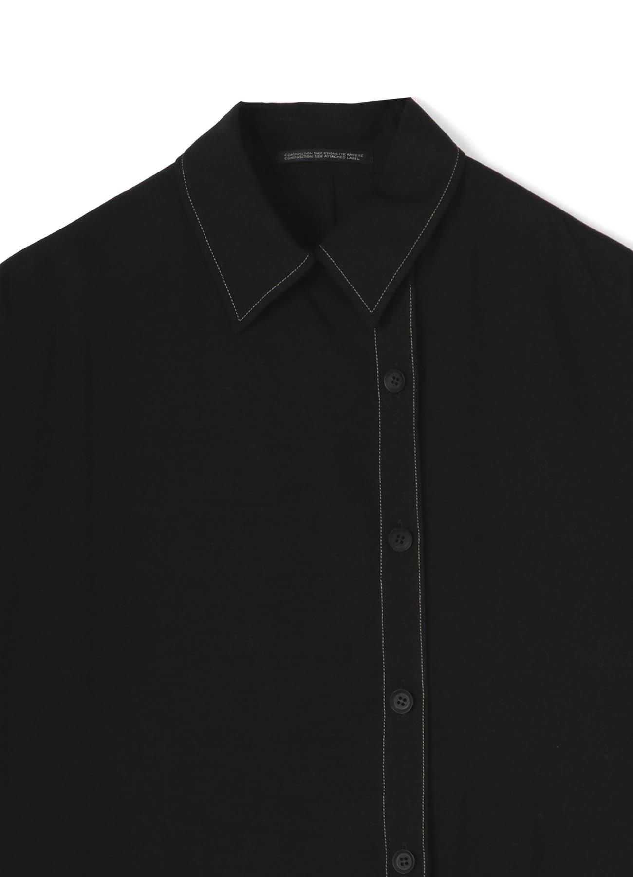 VISCOSE FLARE SHORT SLEEVES DRESS