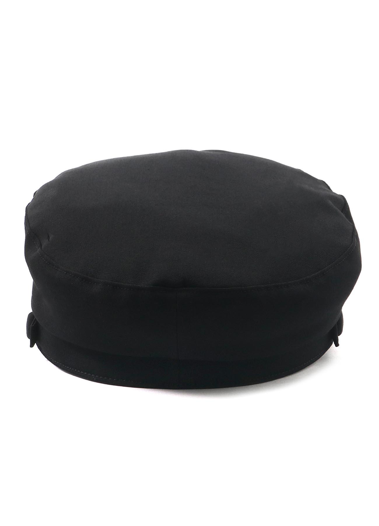 GABARDINE STRAP SAILOR CAP