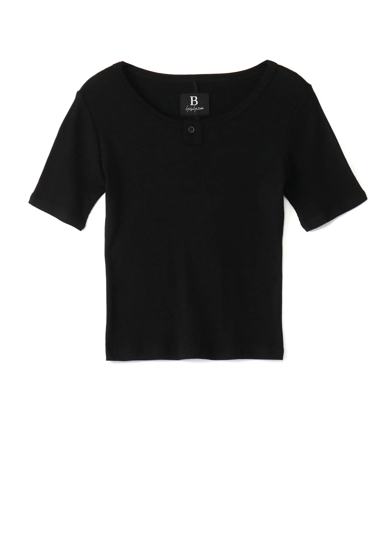 COTTON MO301 B/ ONE BUTTON HENLEY