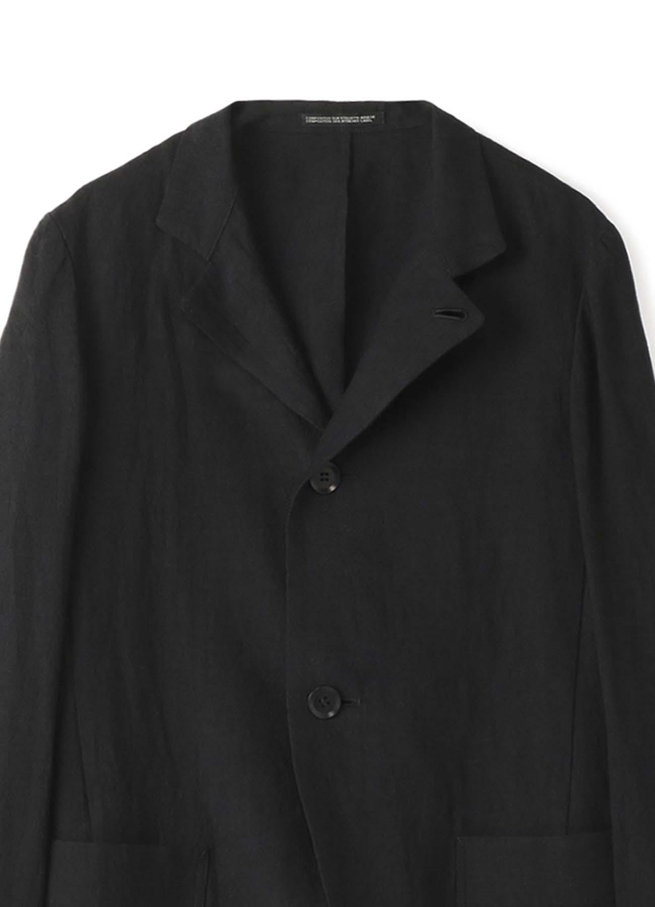 硫化クロス スタンドスリムジャケット