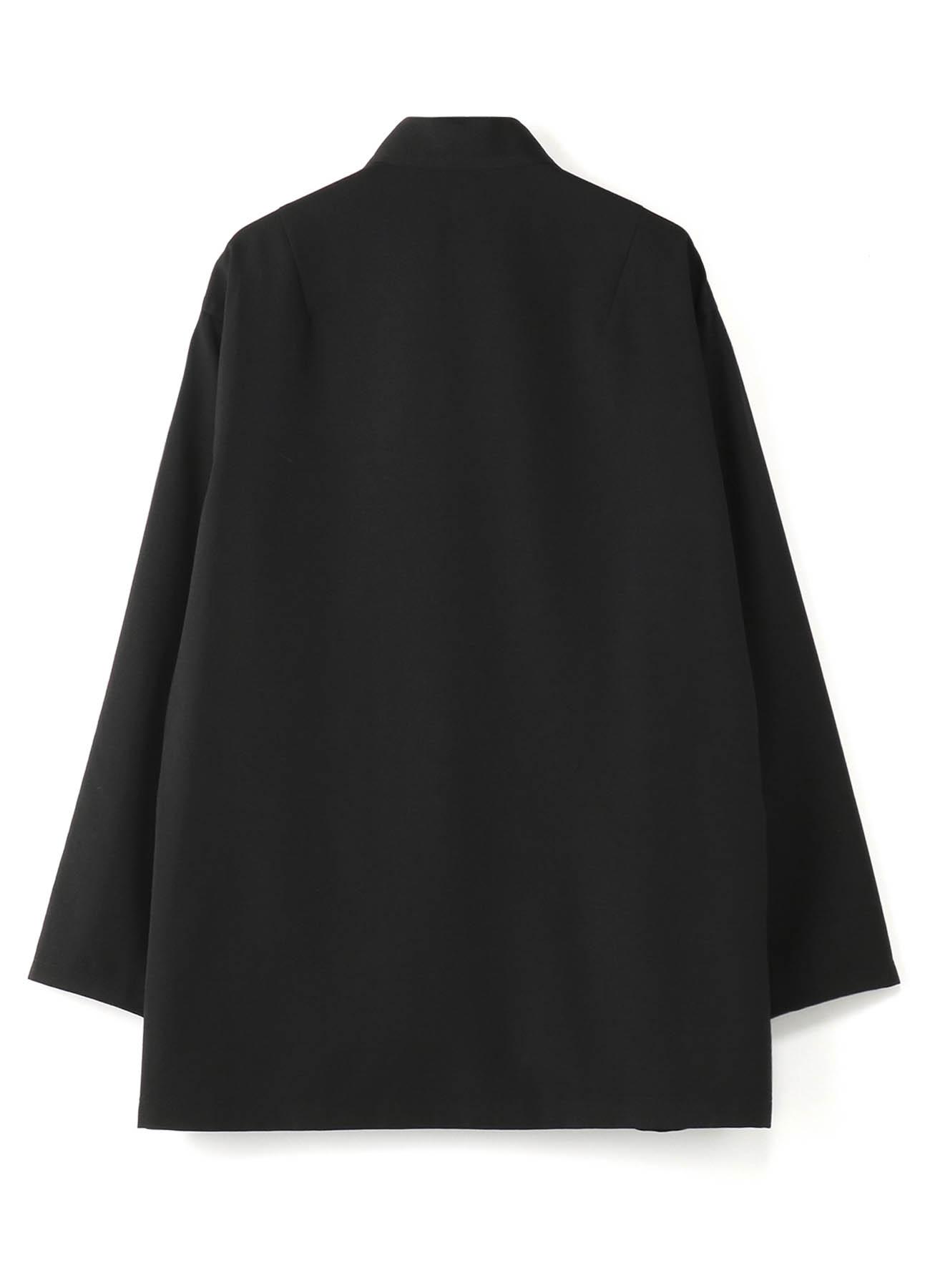 シワギャバ 蝶結びシャツ2