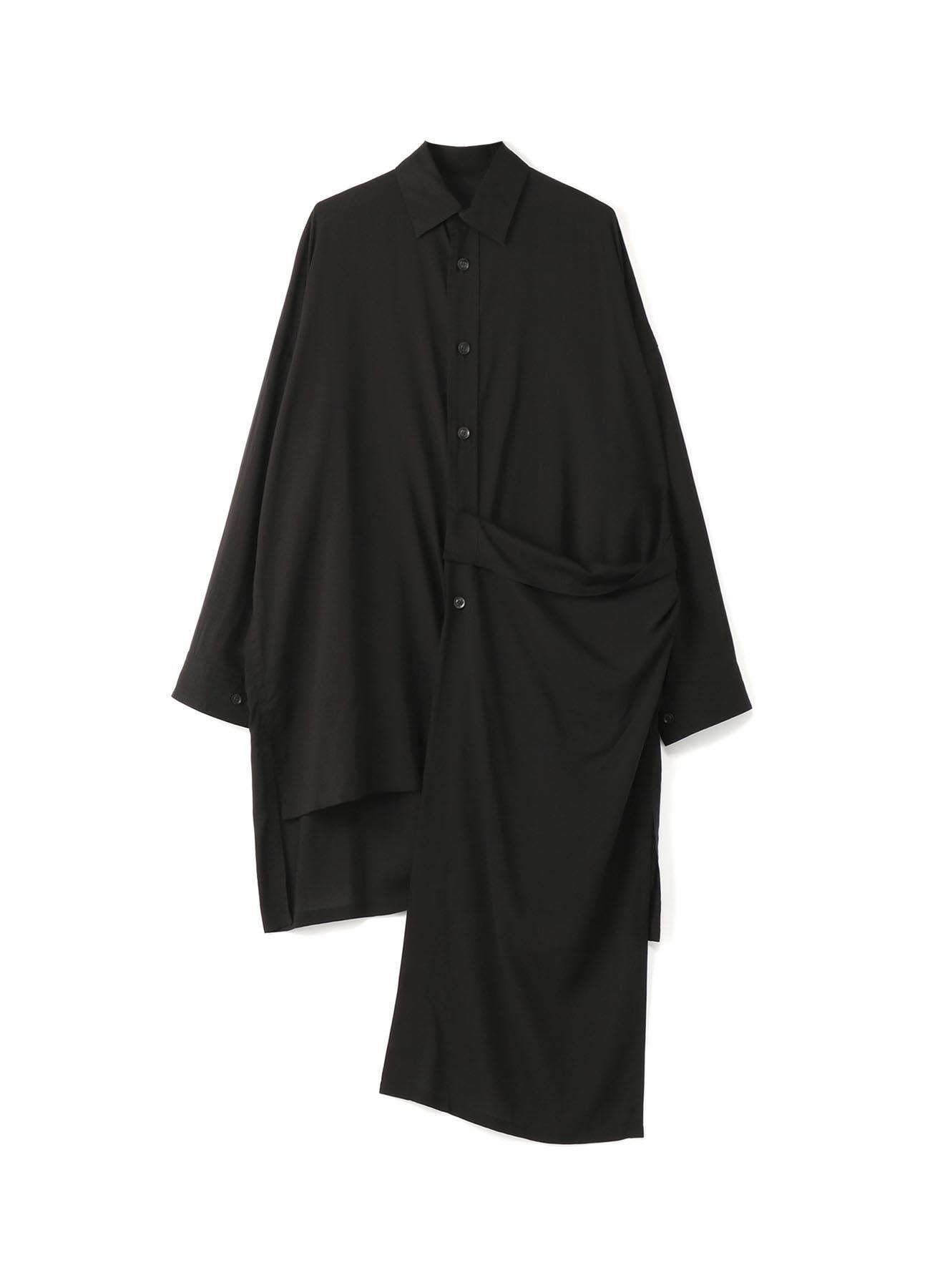 テンセルローン 左薙ぎシャツ2
