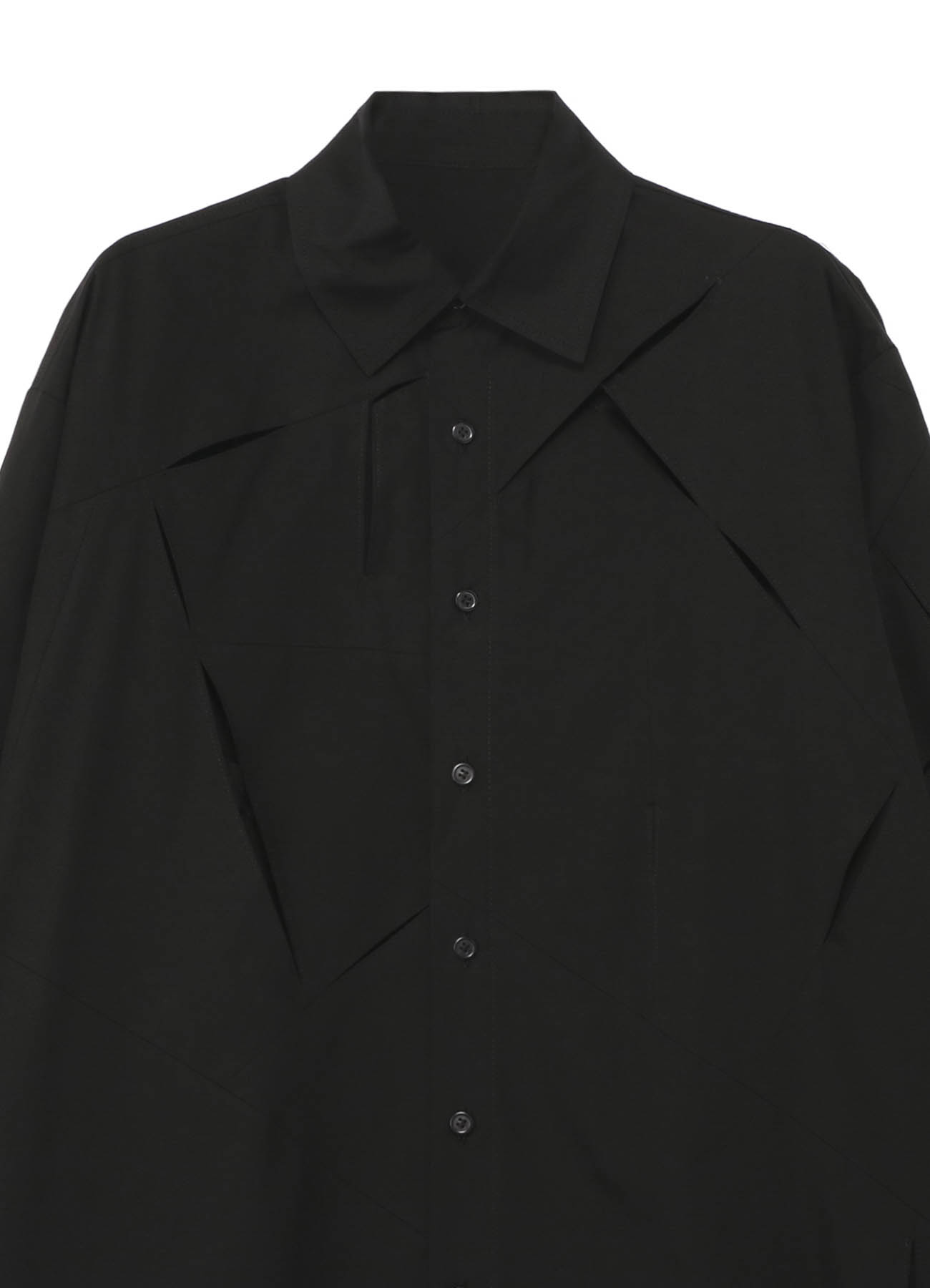 100/2 ブロード スリットスリットシャツ