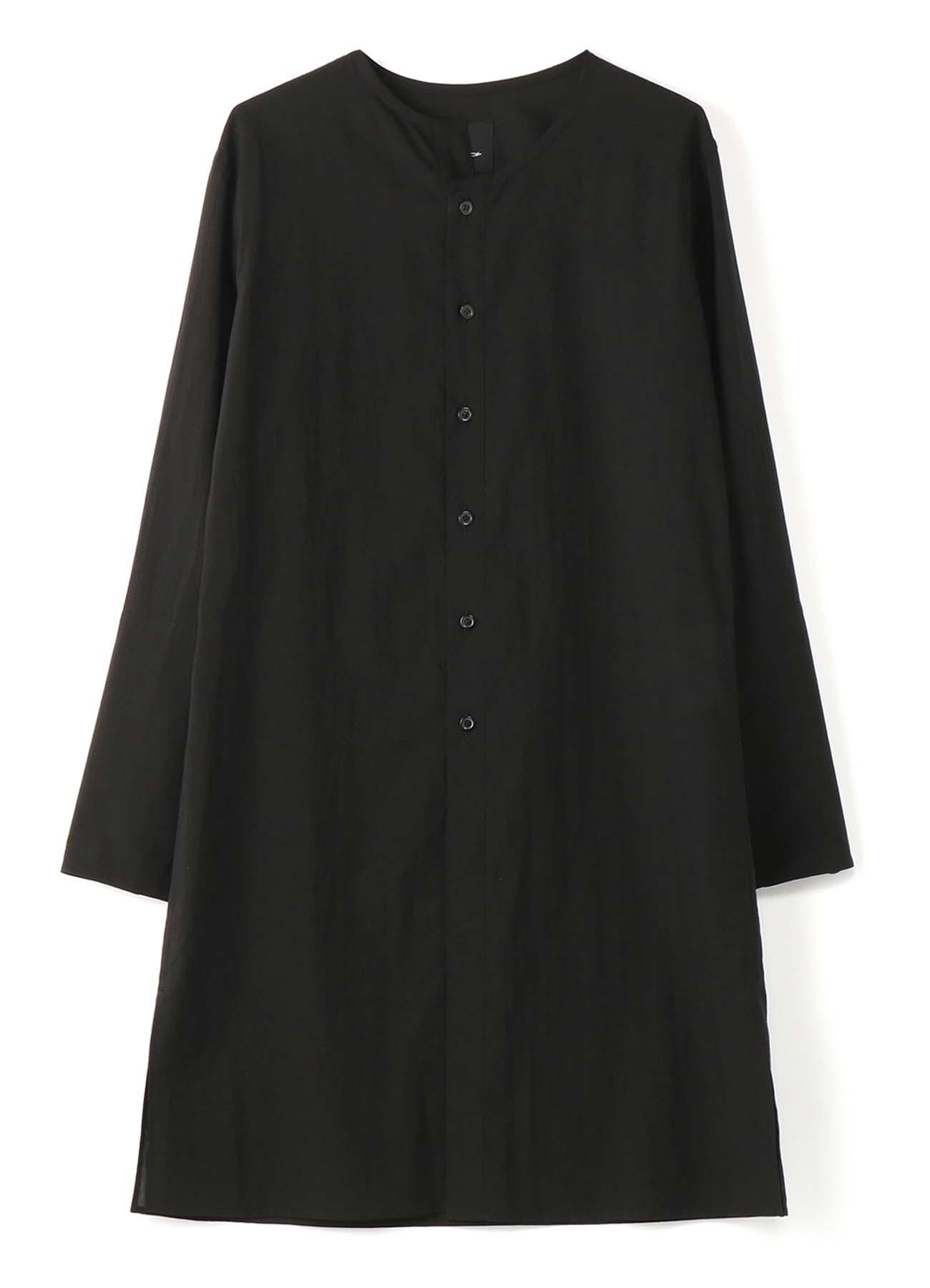 120/2ローン ノーカラーカフスシャツ