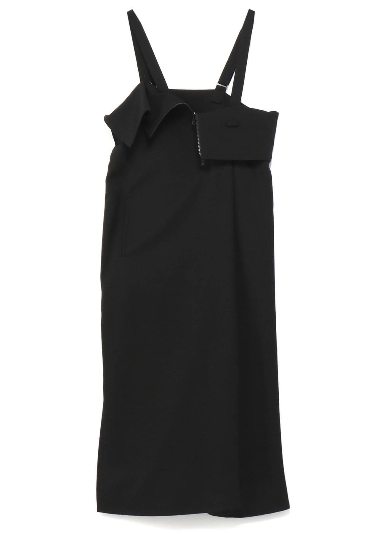 シワギャバサスペンダードレス