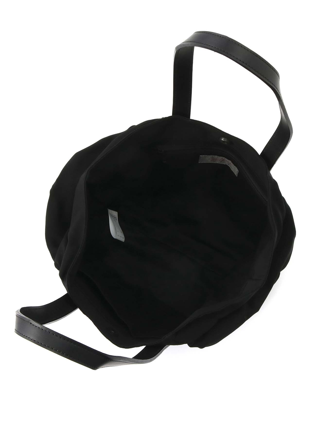 シワギャバ ギャザートートバッグ