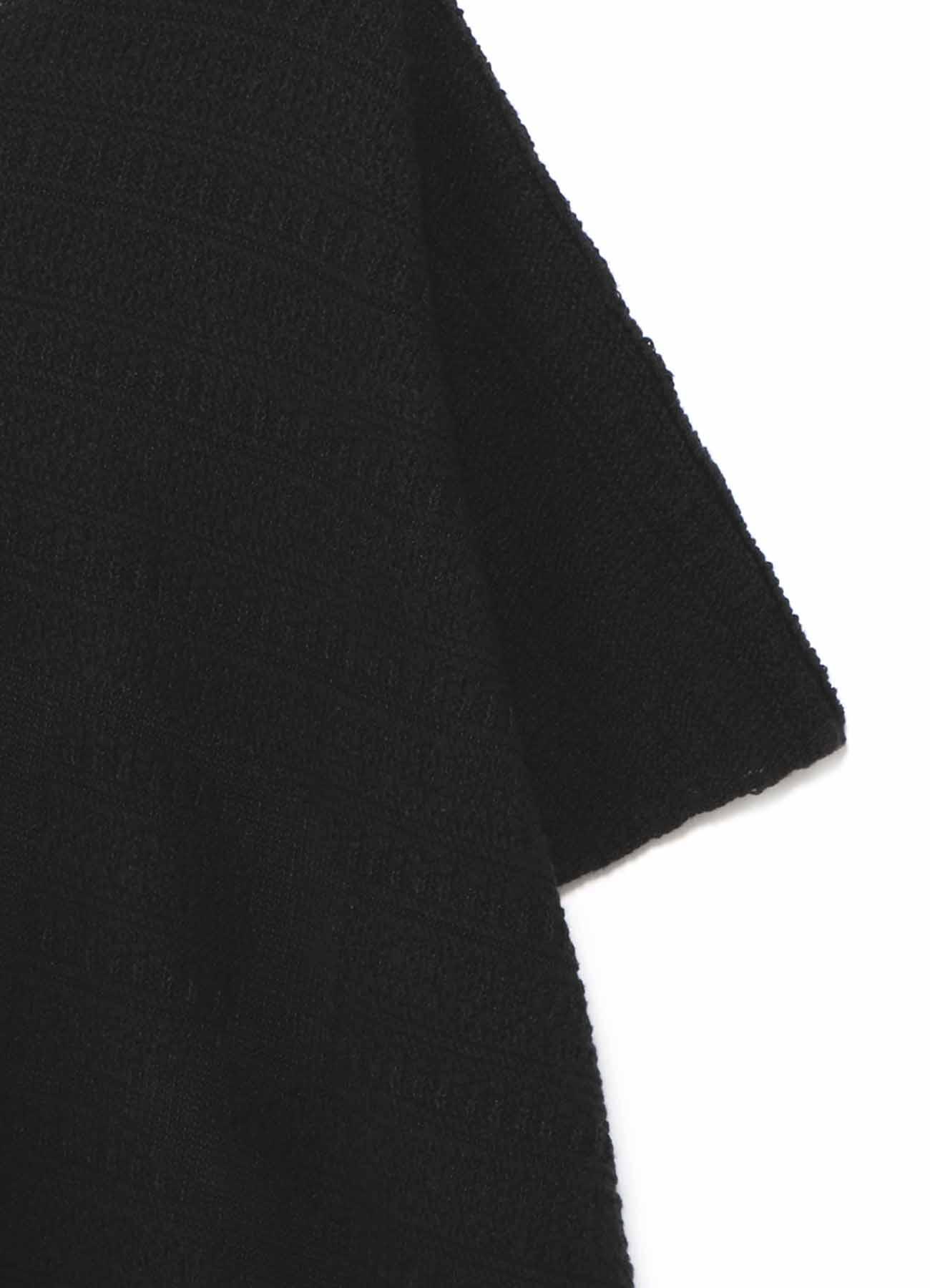 7Gプレーティングジャカード 半袖B柄ニット