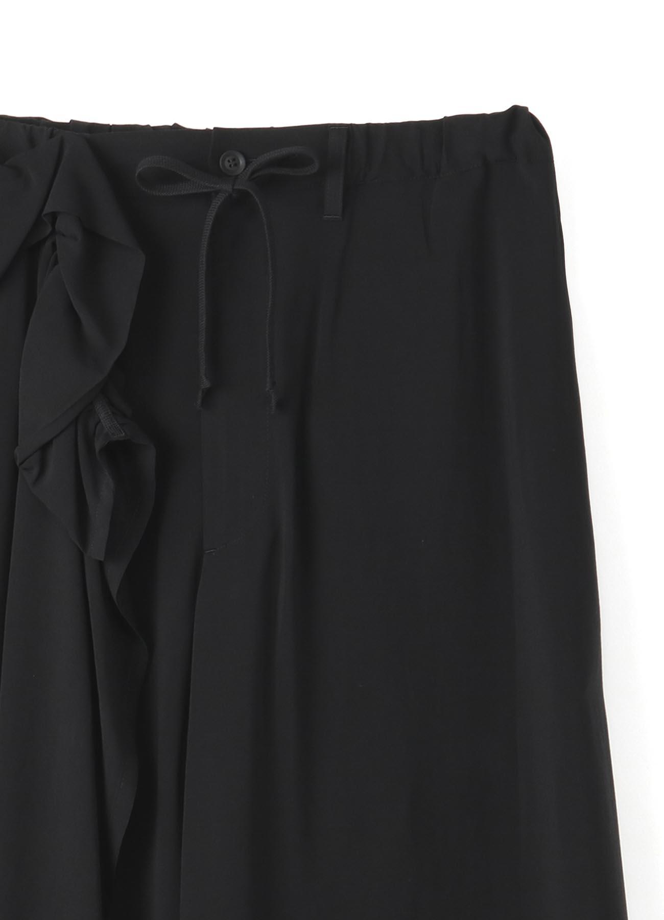 BLACK Scandal? メッセージプリントギャザースカートパンツ