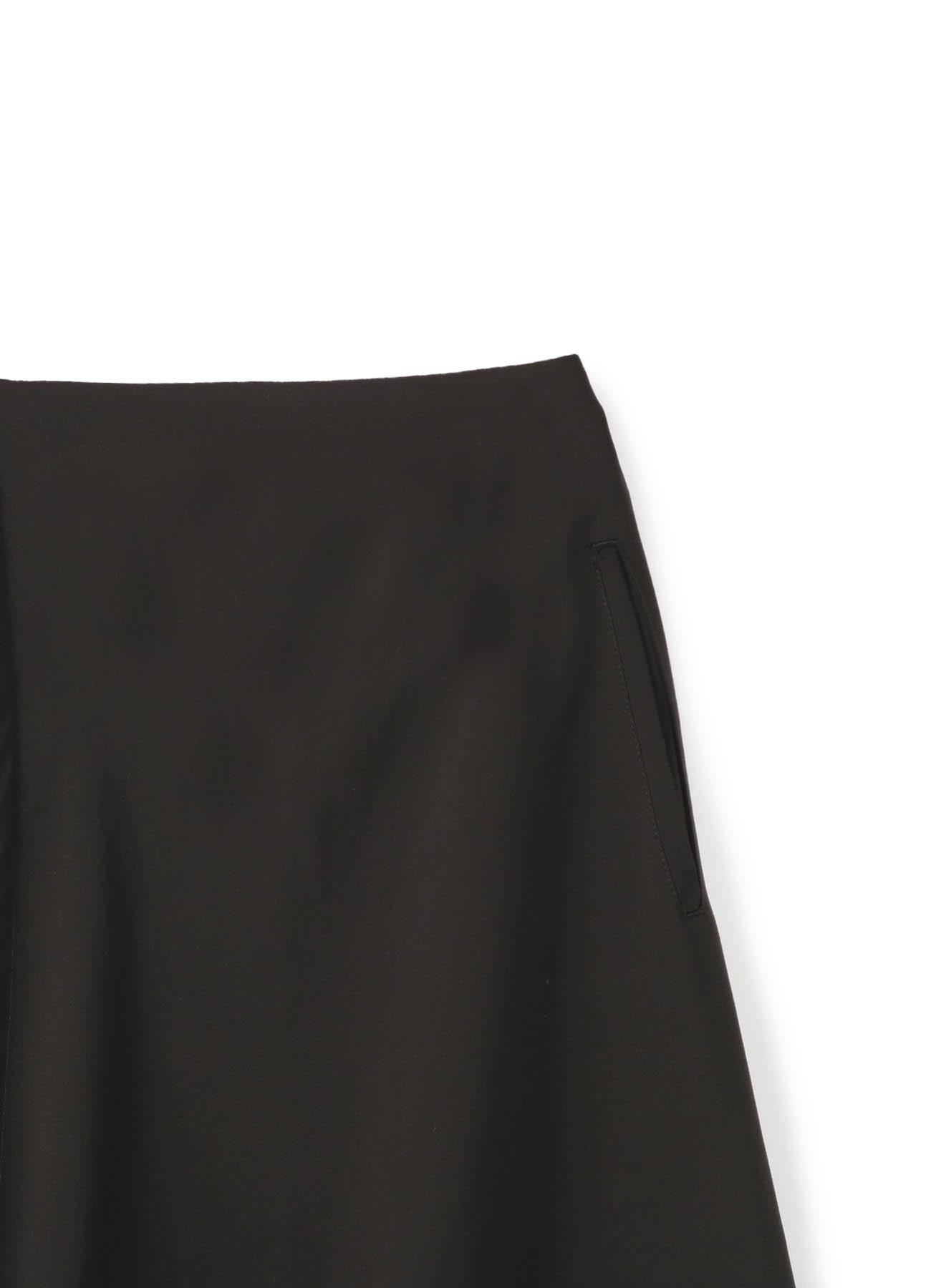 ドット柄フレアスカート