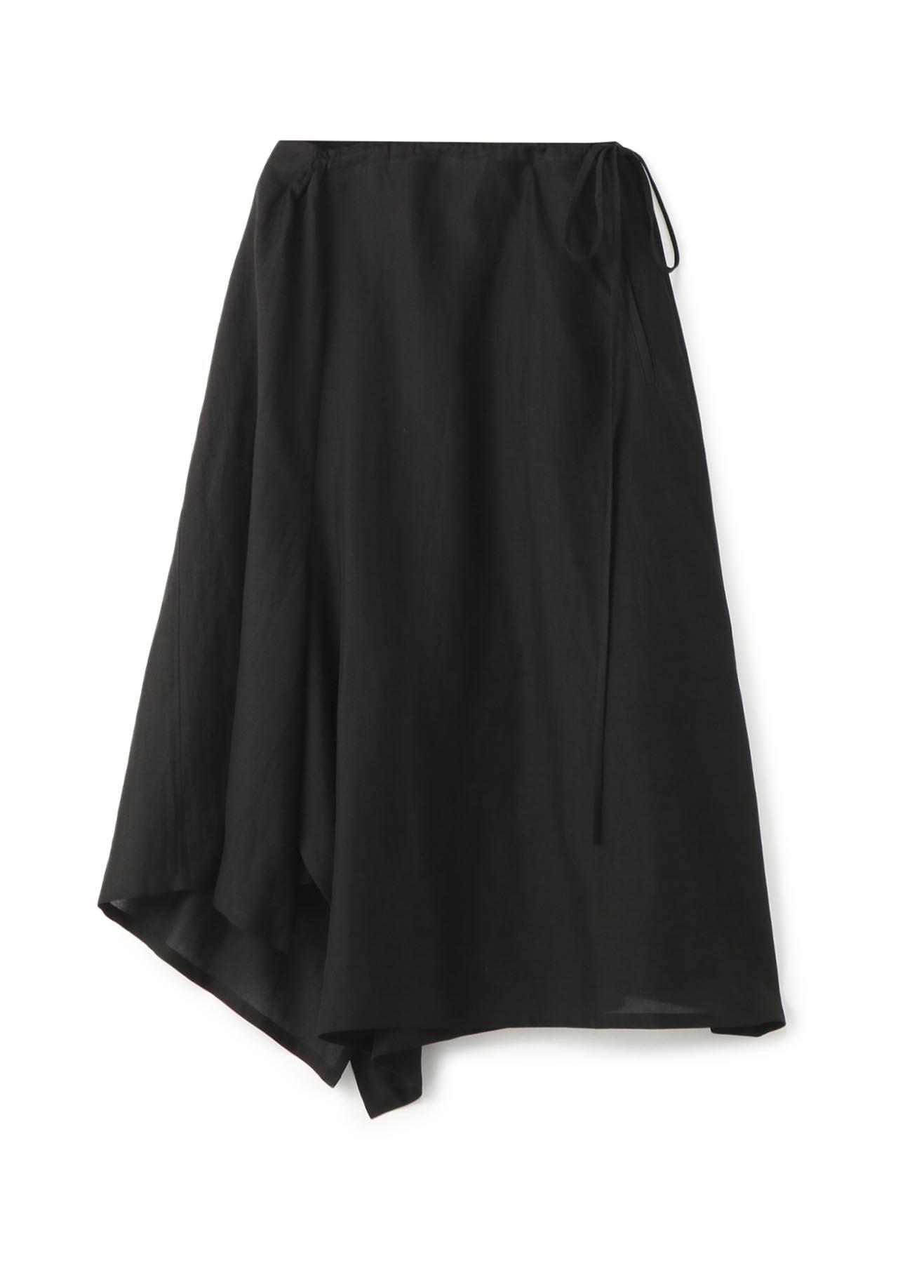 リネンクロス ギャザースカート