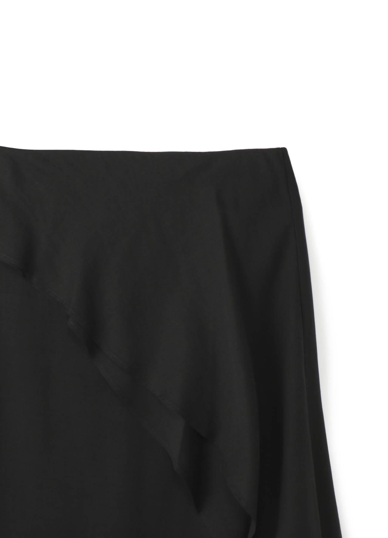レーヨン二重フレアスカート