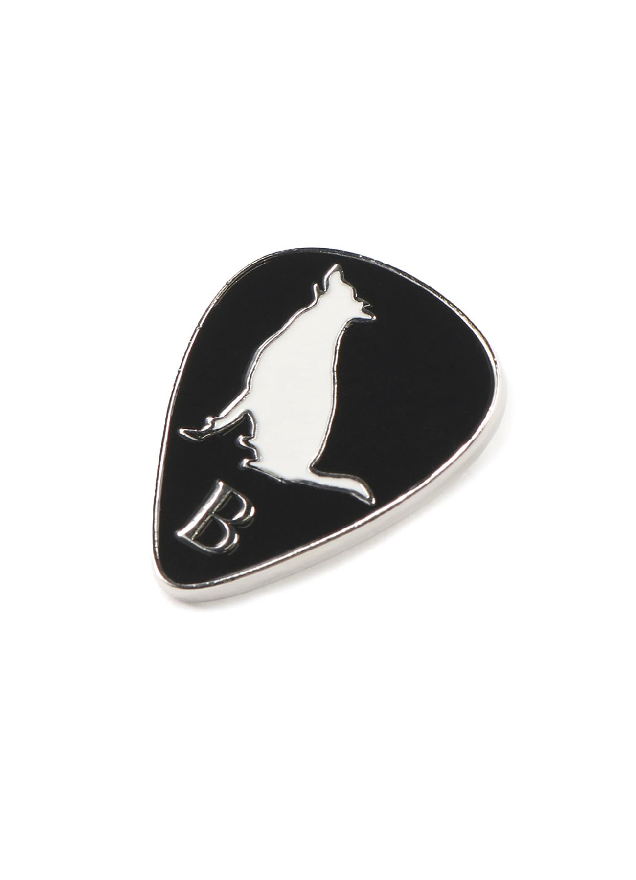 B Yohji Yamamoto Guitar pick Pin badge