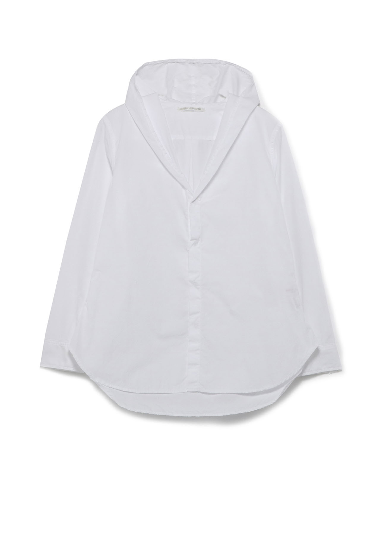 100/2 BROAD HOOD DRAPE SHIRT