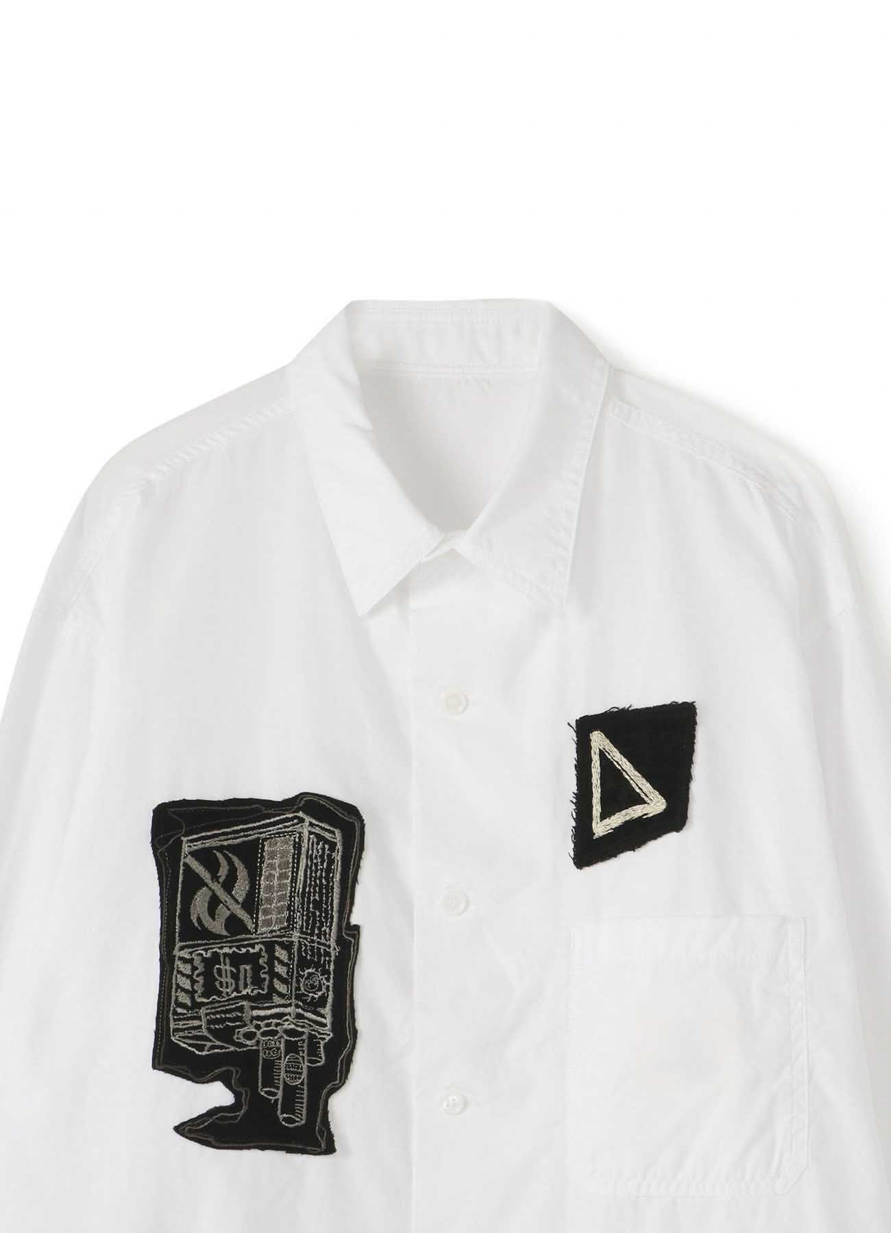 B Yohji Yamamoto One-of-a-kind Patch Shirt