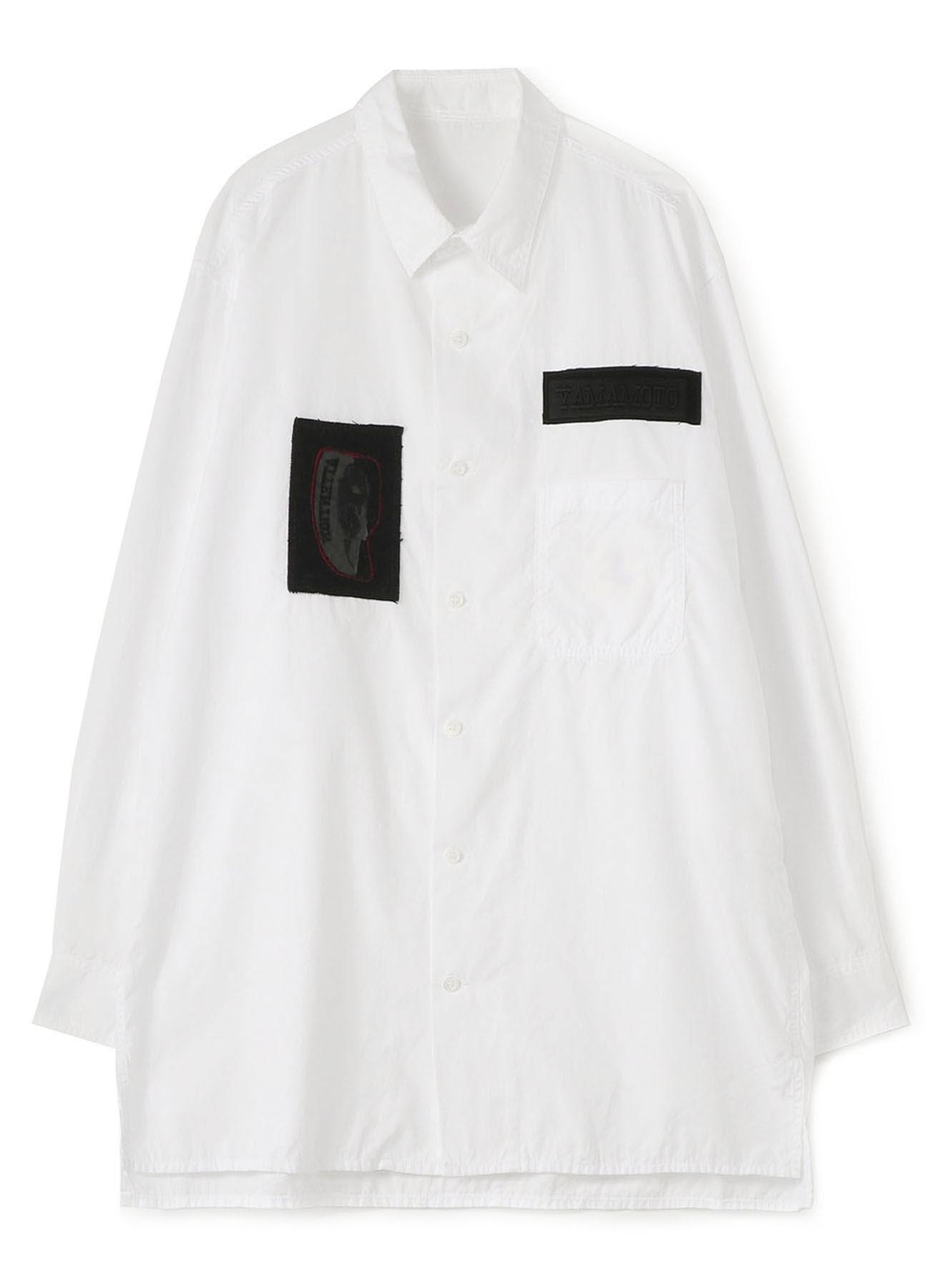 B Yohji Yamamoto One-of-a-kind Patch Shirt