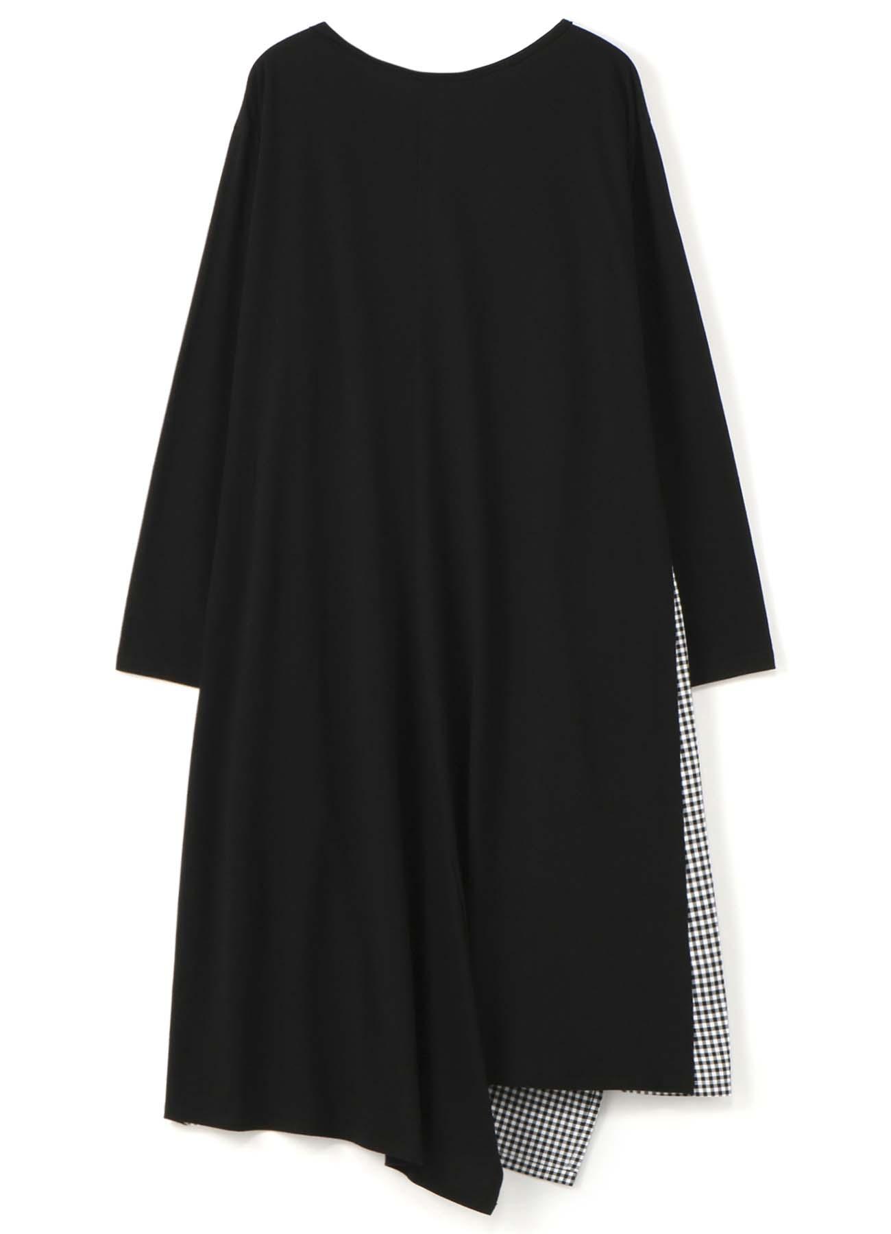 ギンガムチェック組合せドレス