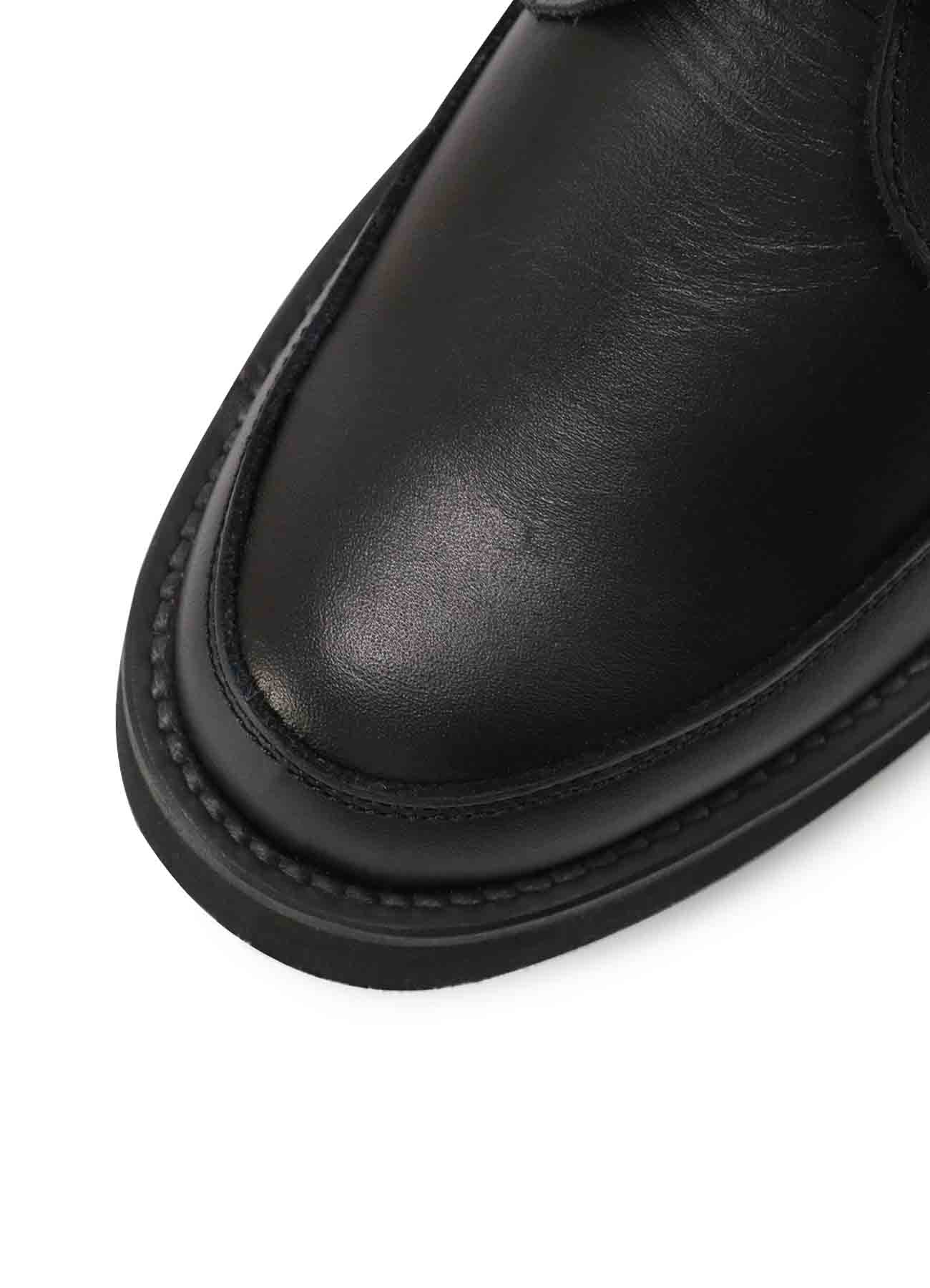 BK SMOOTH LEATHER STRAP BOOTS