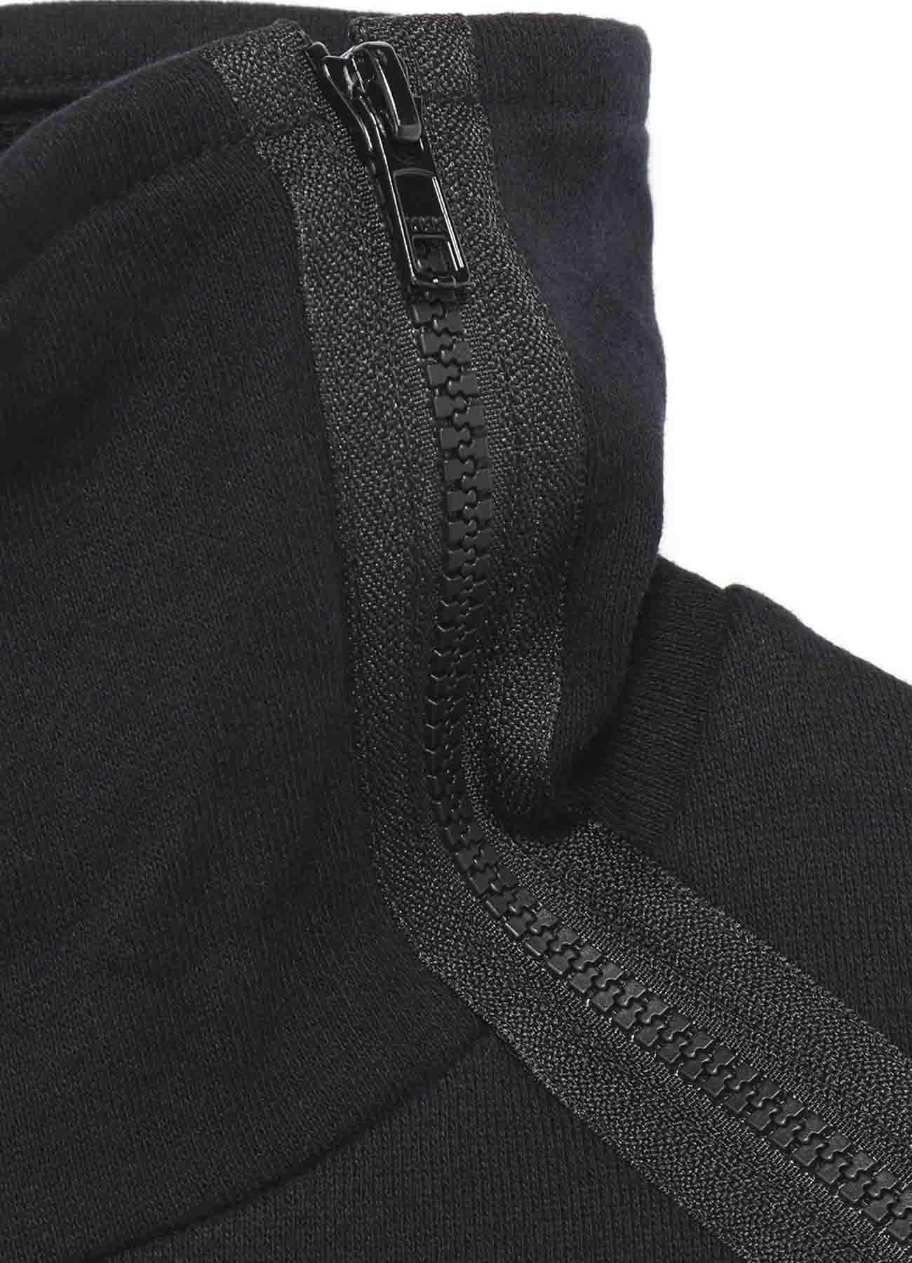 30/10 FLEECY LINING B/ZIP SLV P EMBROIDERY