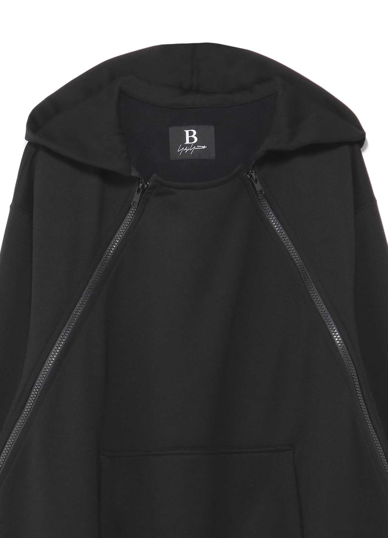 Ly FLEECY LINING B/W ZIP PARKA