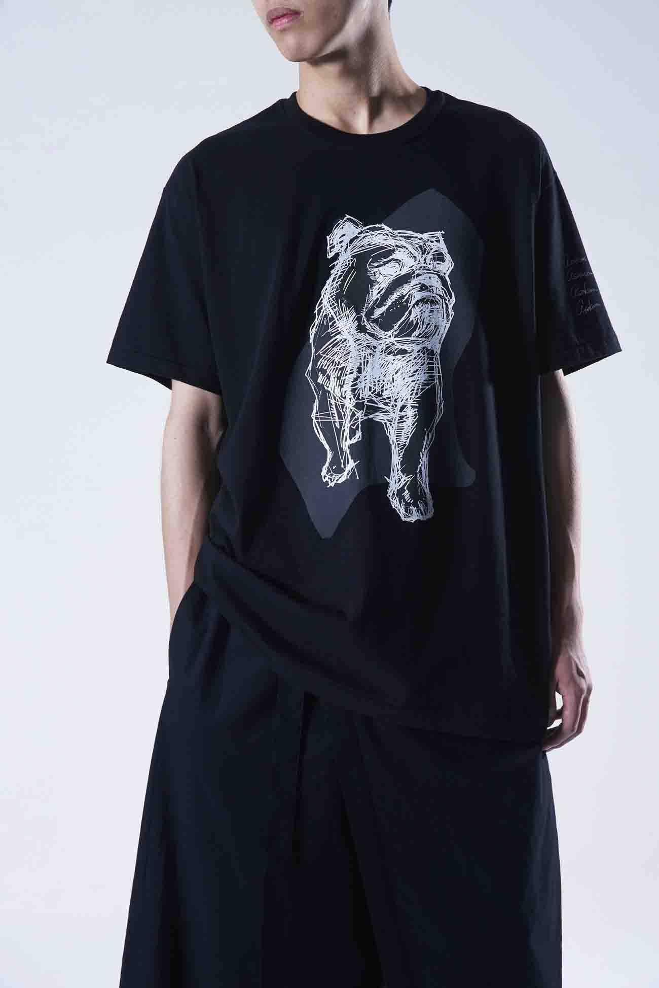 YUUKA ASAKURA Bulldog T-shirt
