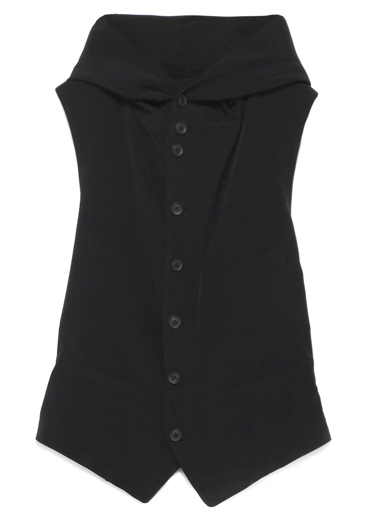 B/Decine Flap Hood Vest