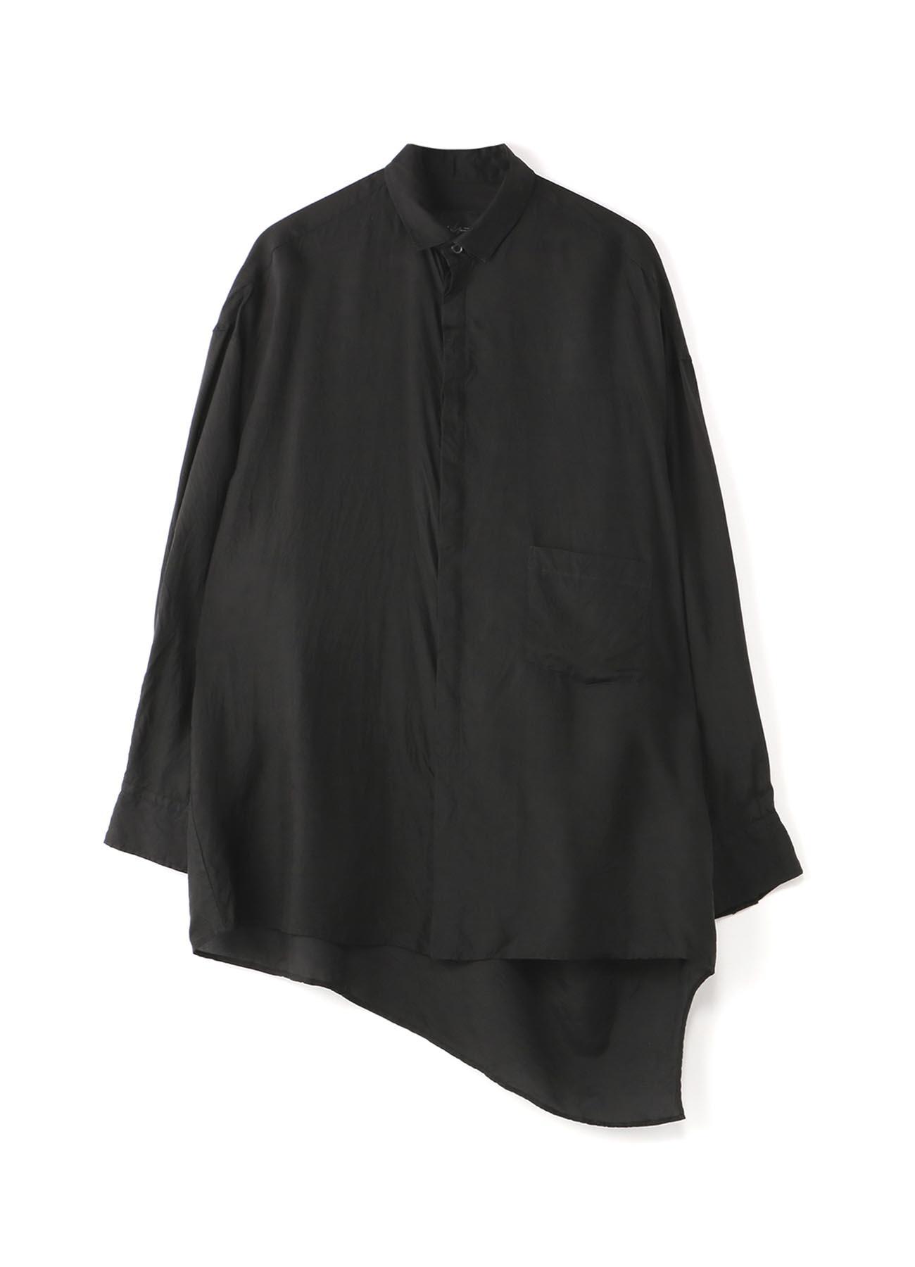 Cupla Taffeta背面Tawami衬衫