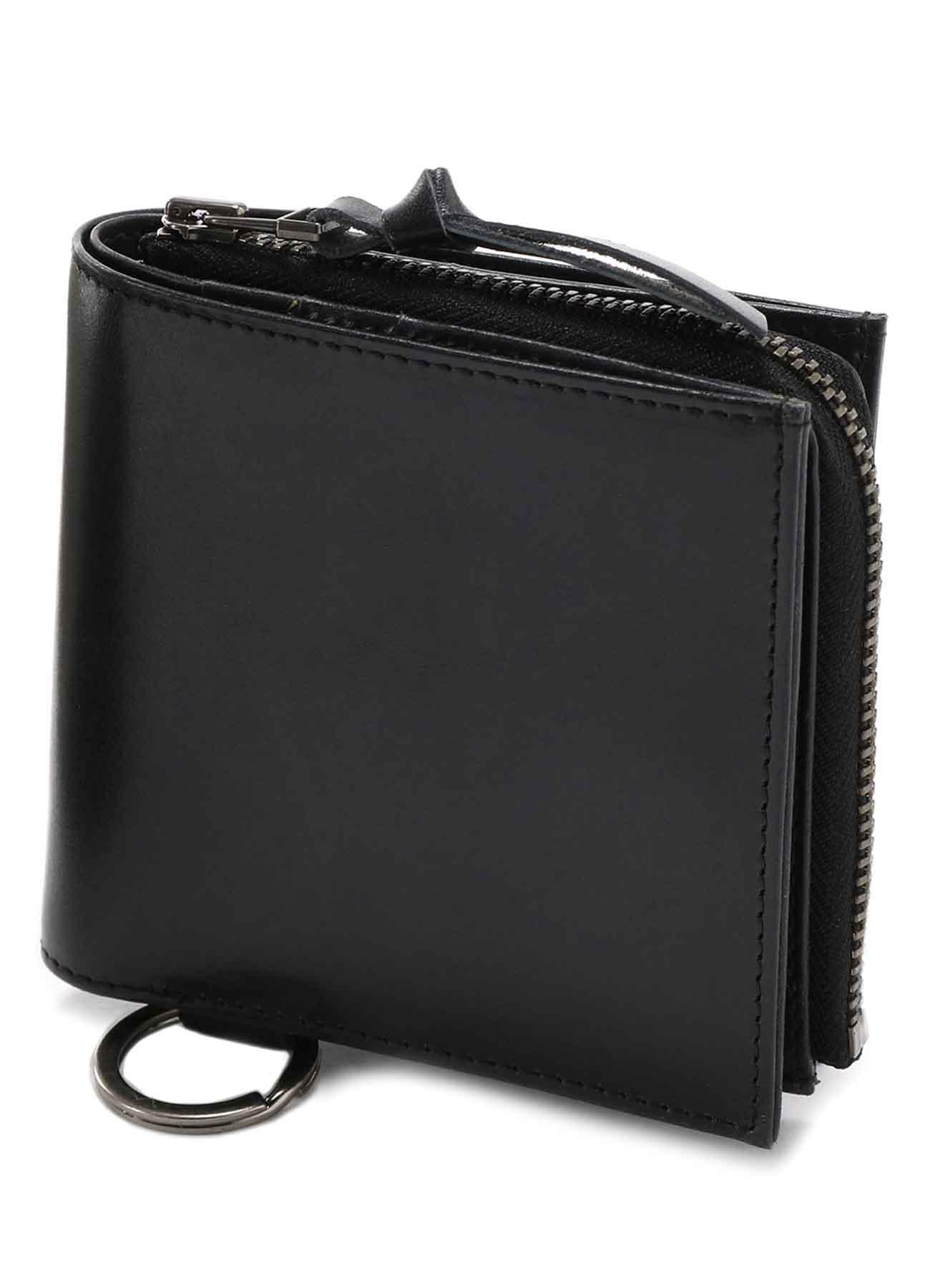 Cow Leather 2WAY Detachable Mini Wallet