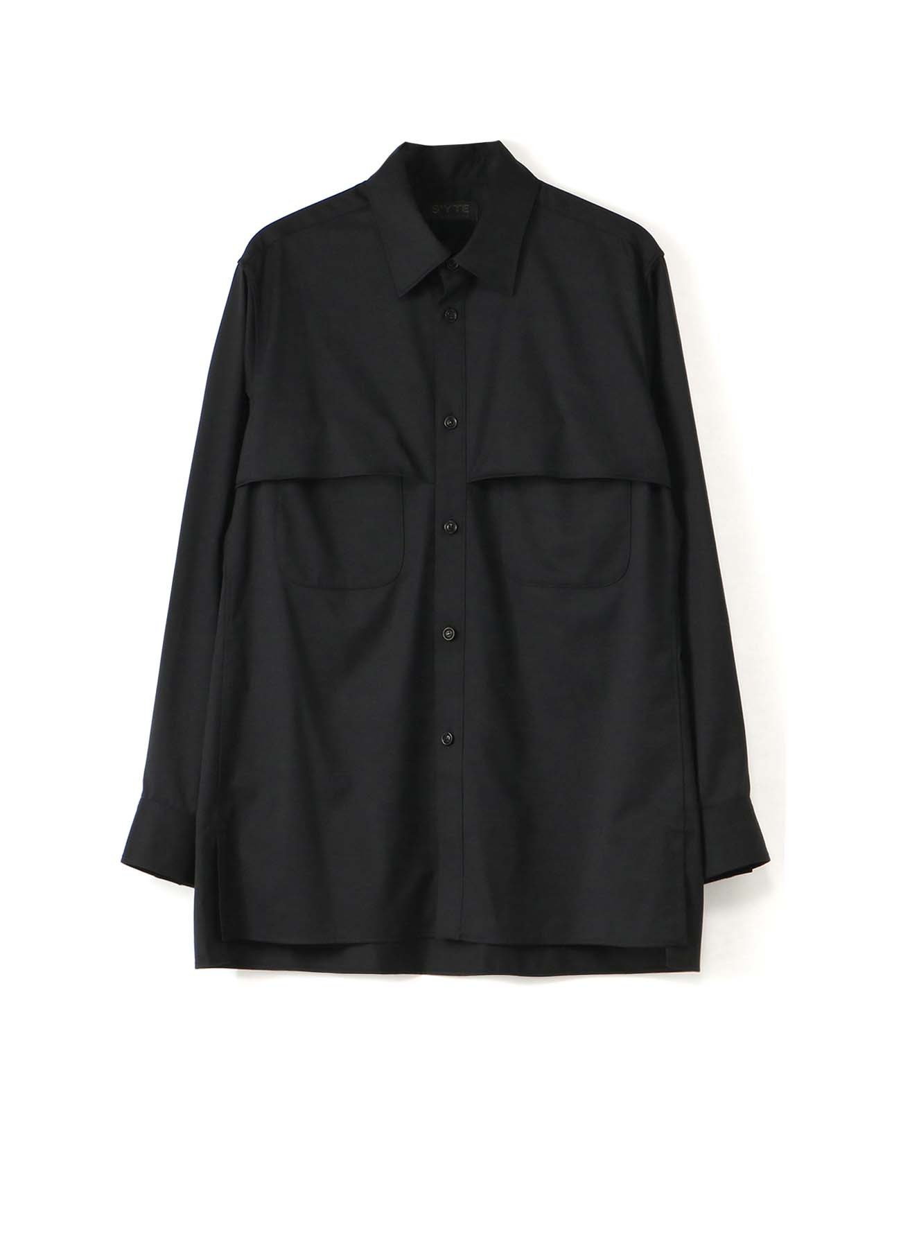 T/W Gabardine Storm Shield Double Pocket Shirt