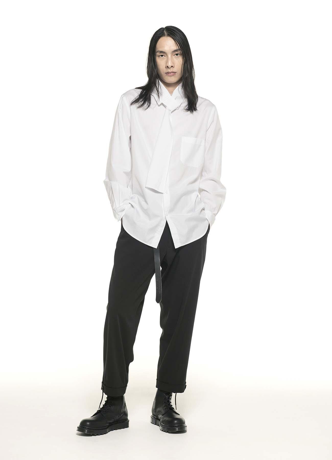 100/2 Broad Stole Collar Shirt
