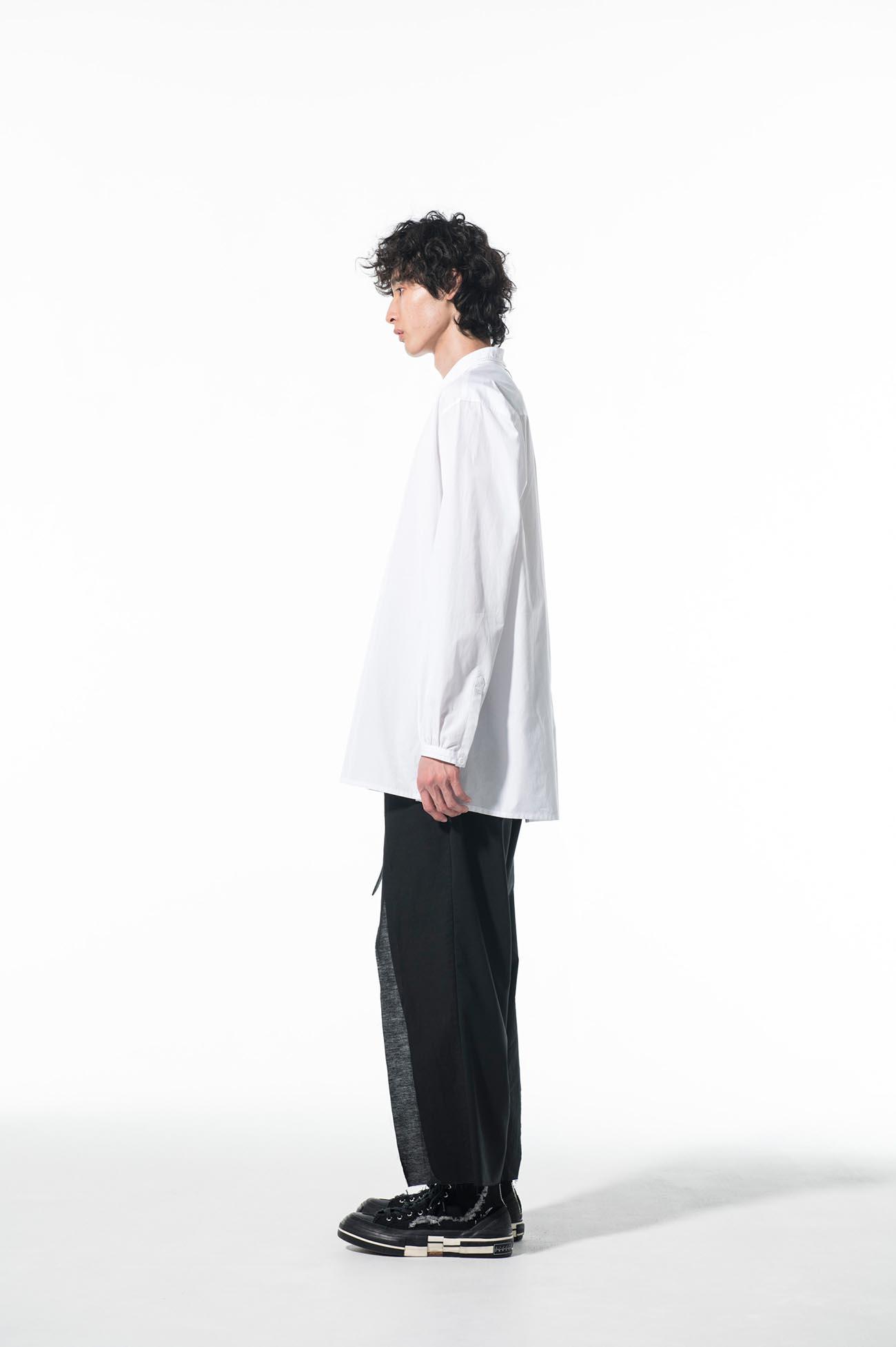 100/2 Broad Cotton Tassel Shirt