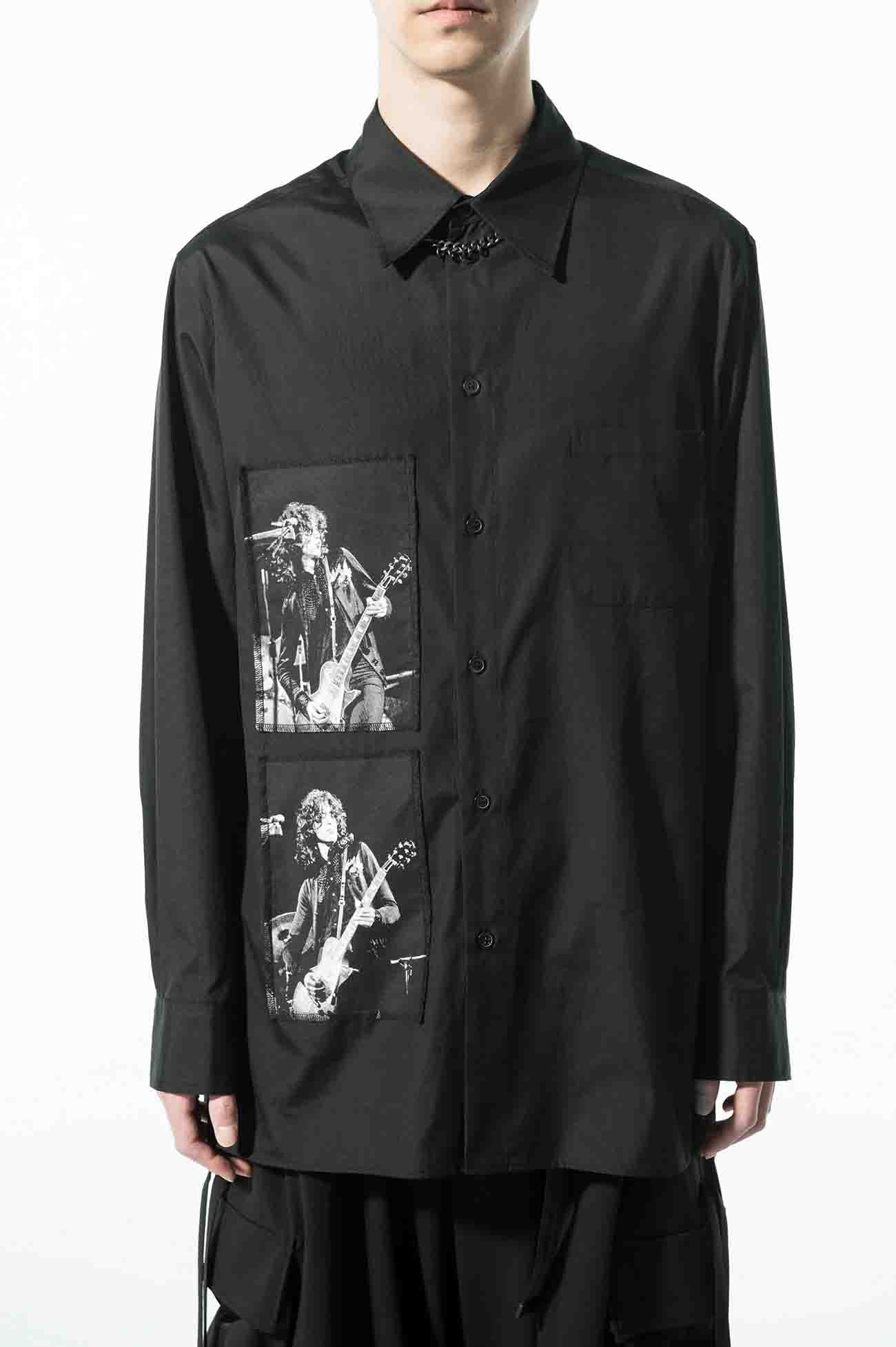 S'YTE × marquee club(TM) 1968 100/2 Broad Omnibus Printed Patch Shirt