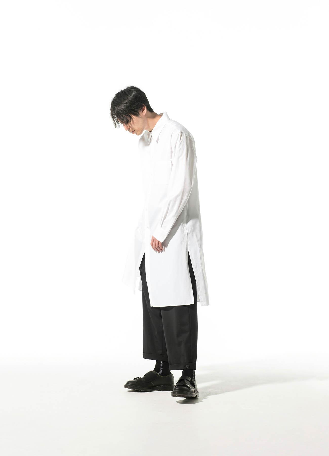 100/2 Broad Regular Collar Long Shirt