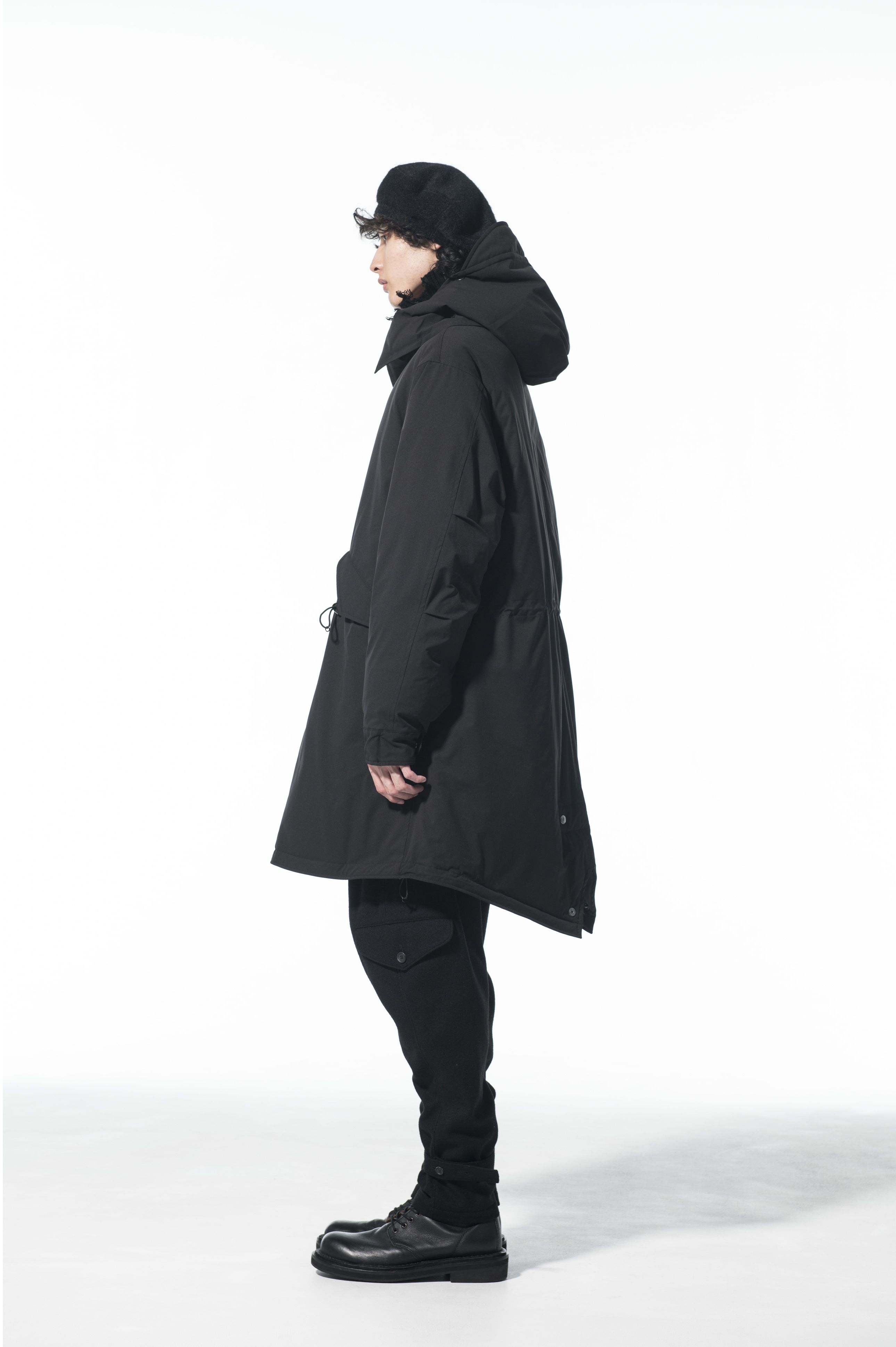 Solotex Seamless Down Detachable Mods Coat