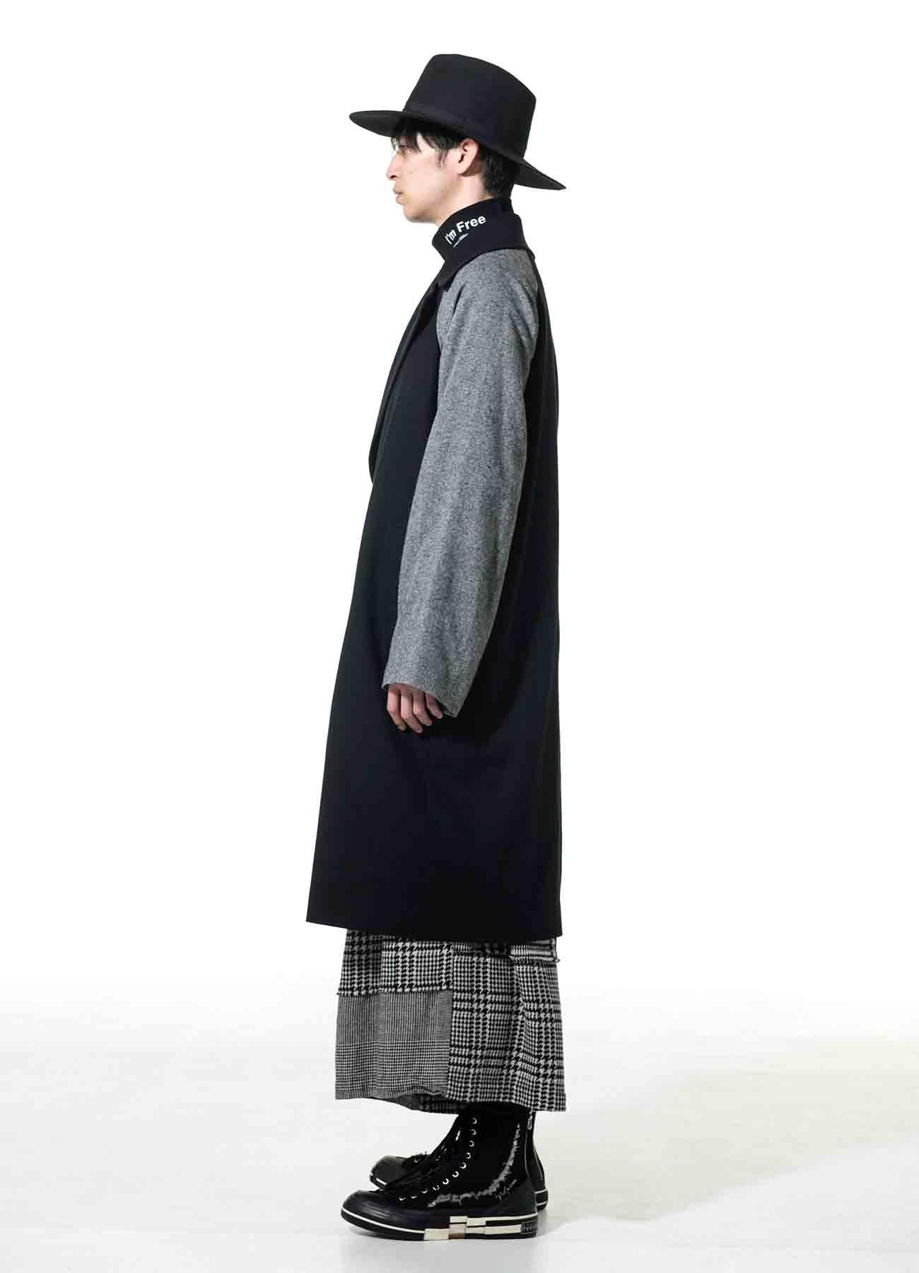 Etermin Tweed Panel Tielocken Coat