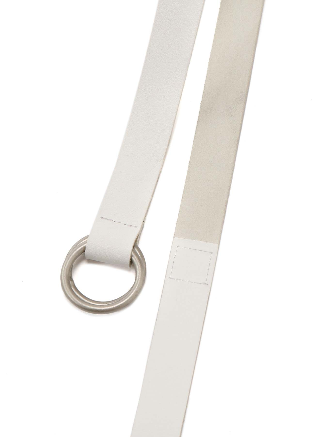Cow Leather 25mm Long Ring Belt