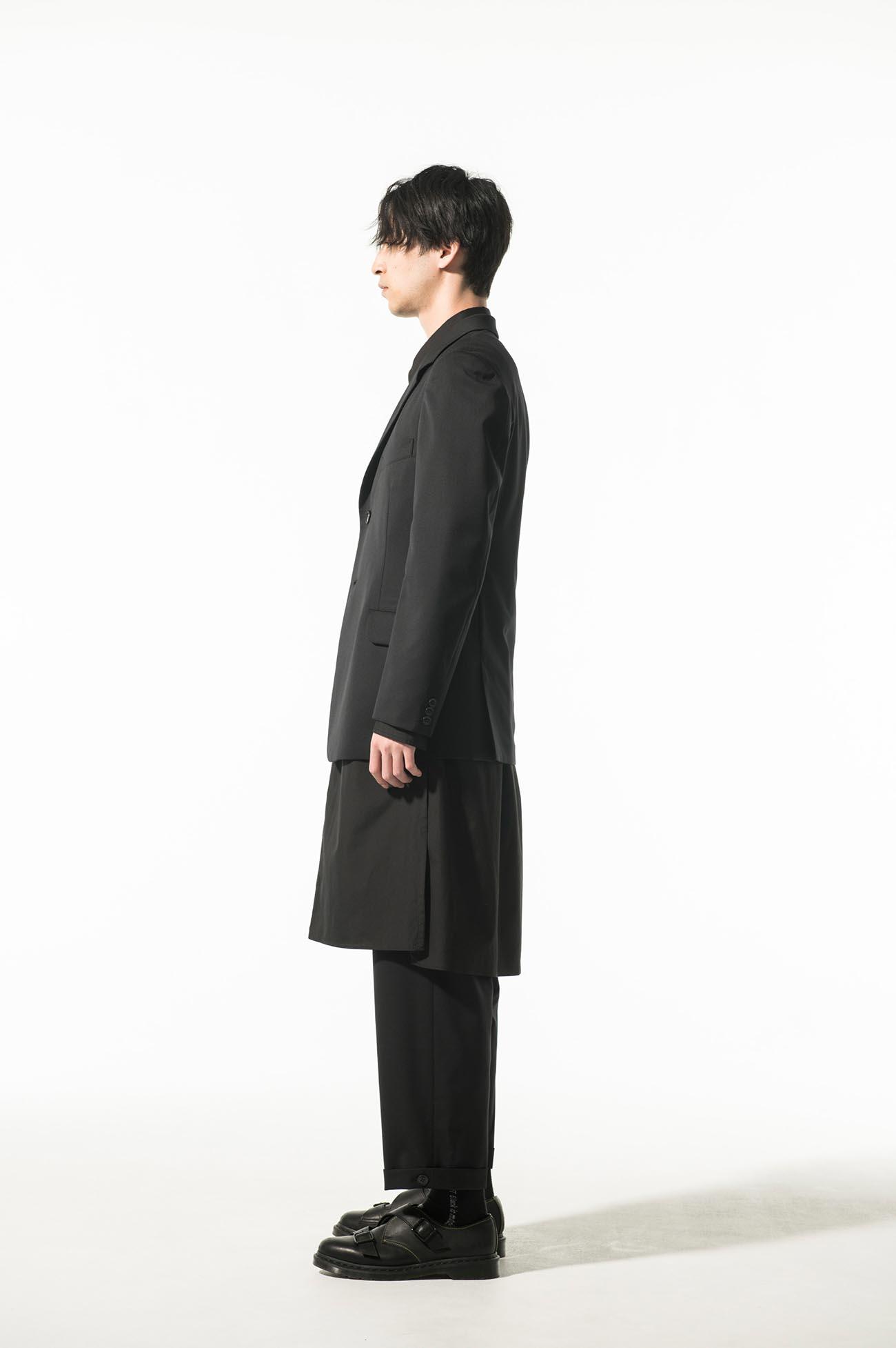 T/W Gabardine 2BS slim jacket