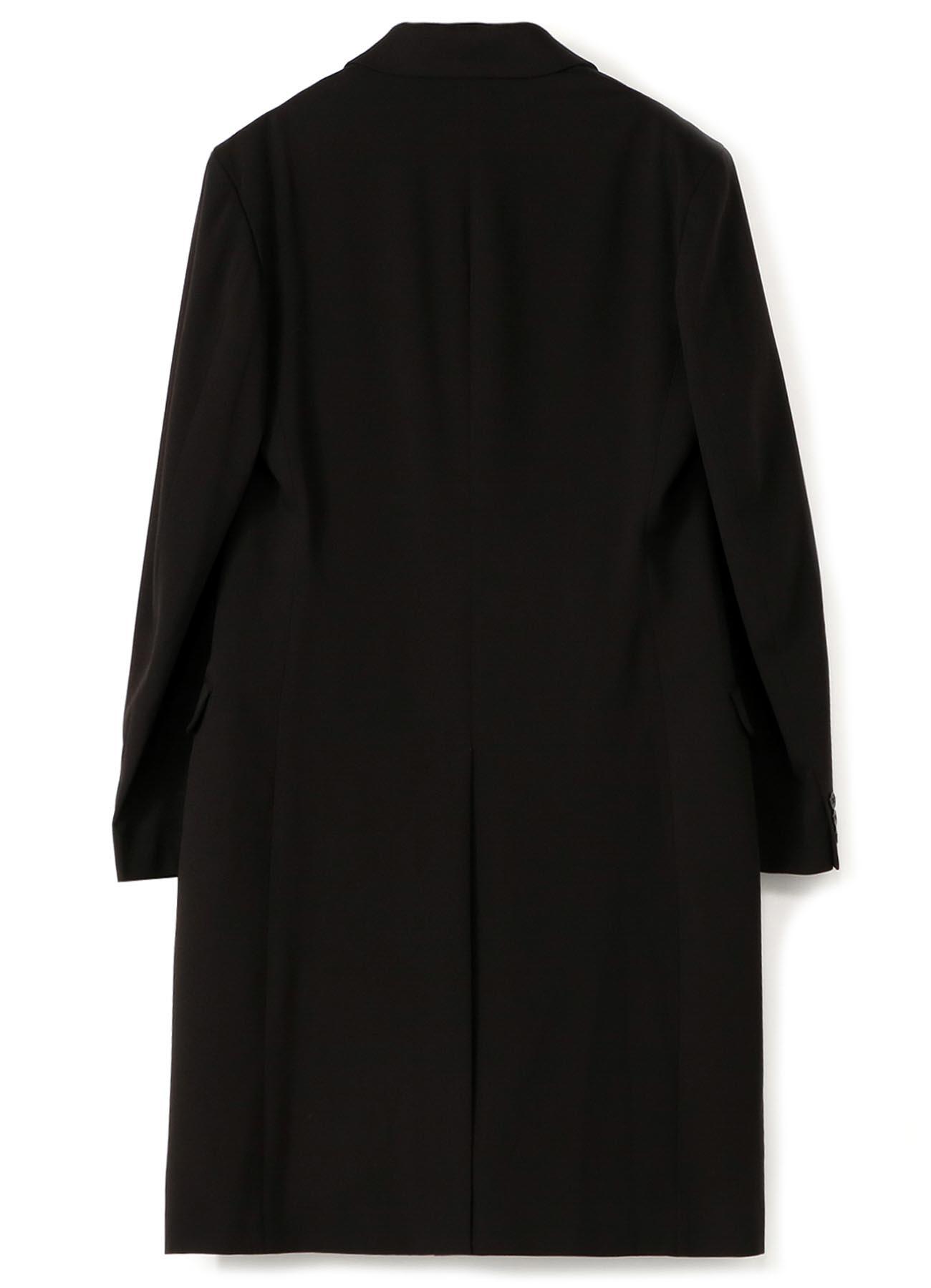 Pe/Rayon Gabardine Stretch 3BS Slim Long Jacket