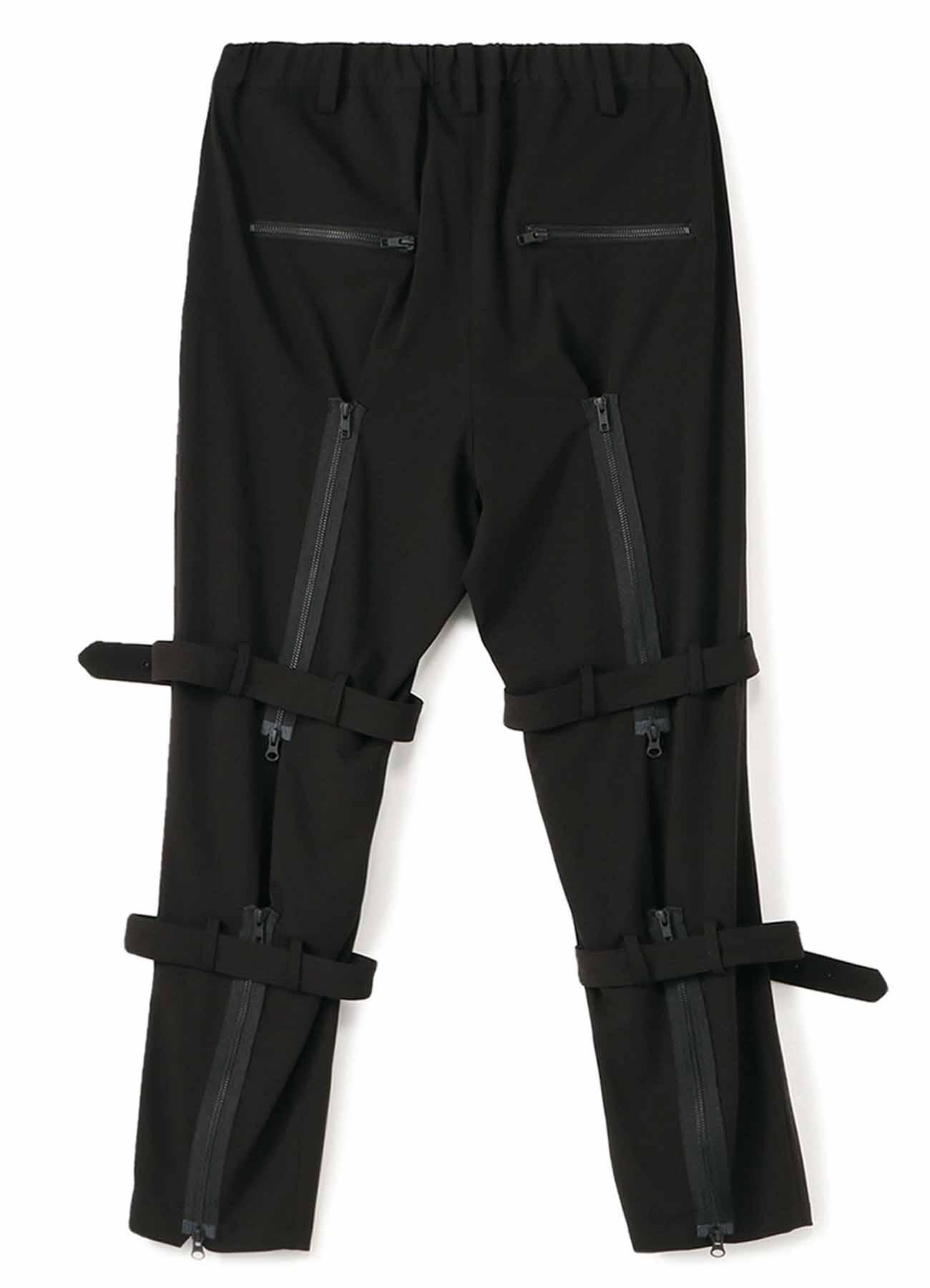 Pe/Rayon Gabardine Stretch Bandage Tapered Pants
